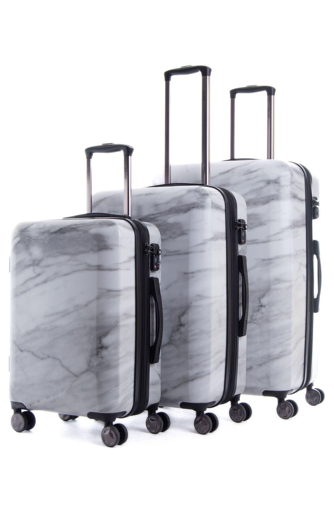 Alternate Image 6  - CALPAK Astyll 3-Piece Marbled Luggage Set