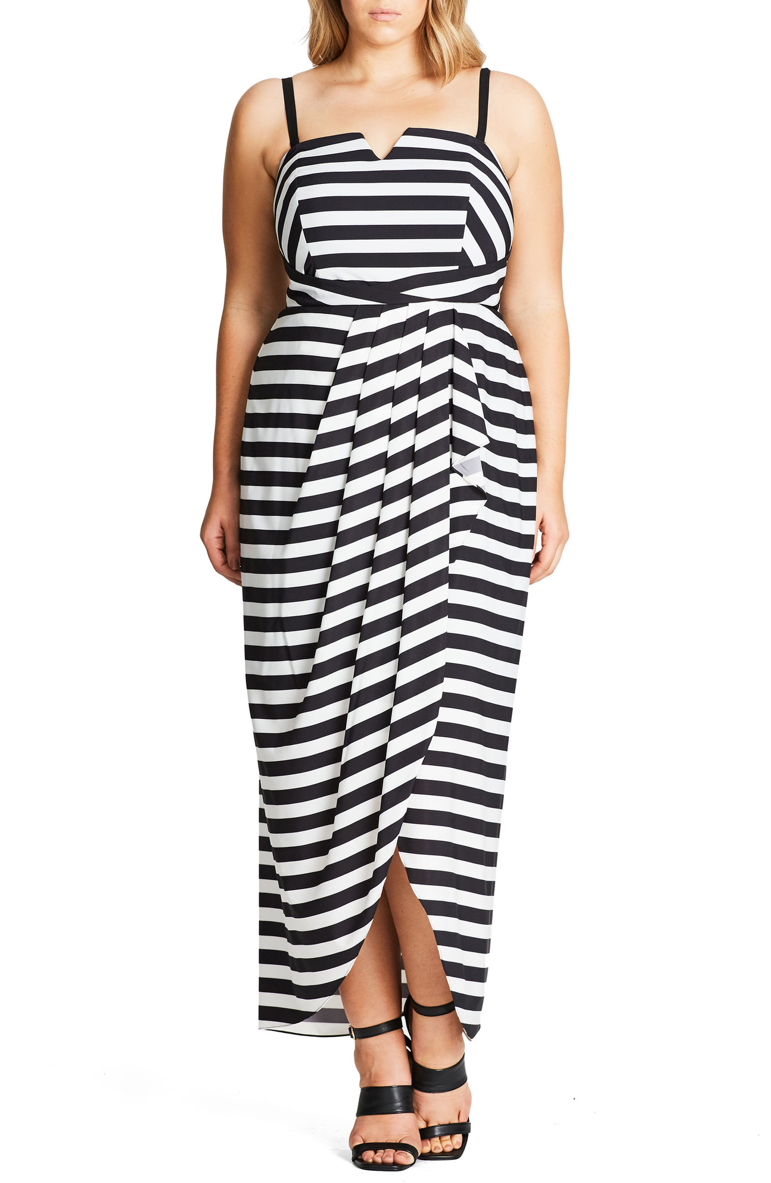 City Chic Fair Lady Convertible Maxi Dress (Plus Size)