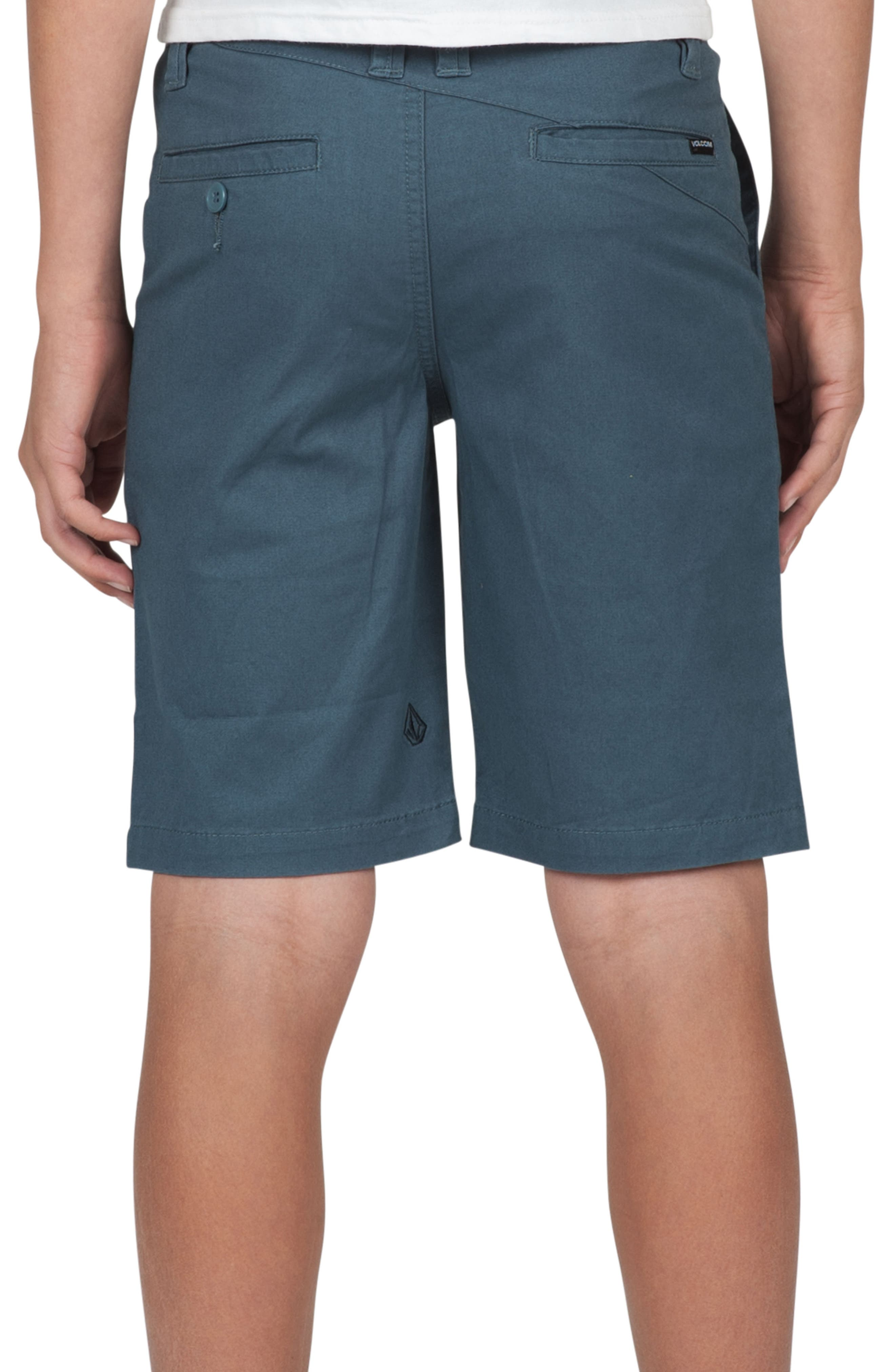 Alternate Image 2  - Volcom Cotton Twill Shorts (Toddler Boys, Little Boys & Big Boys)