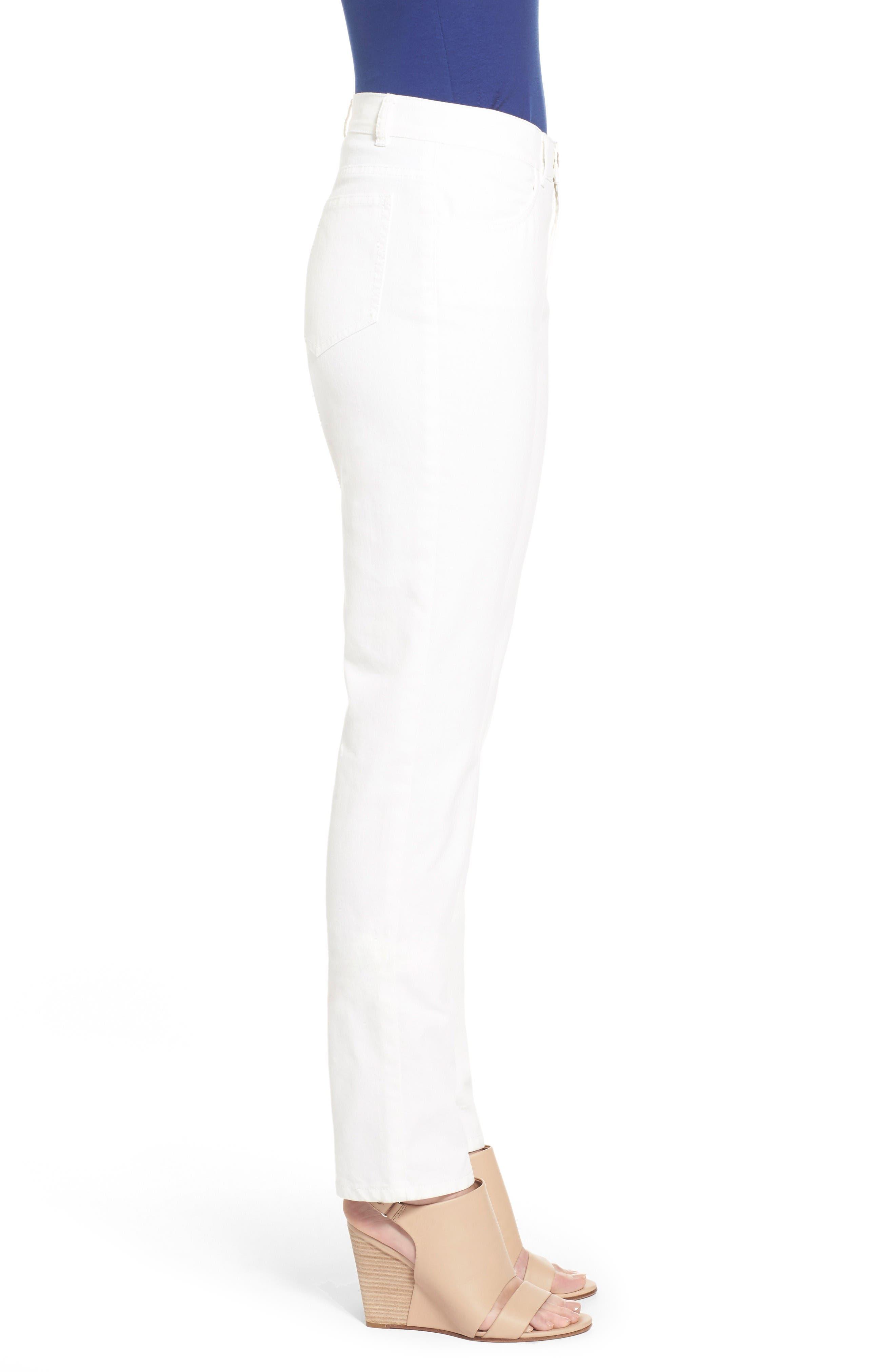 Alternate Image 4  - Lafayette 148 New York Curvy Fit Jeans