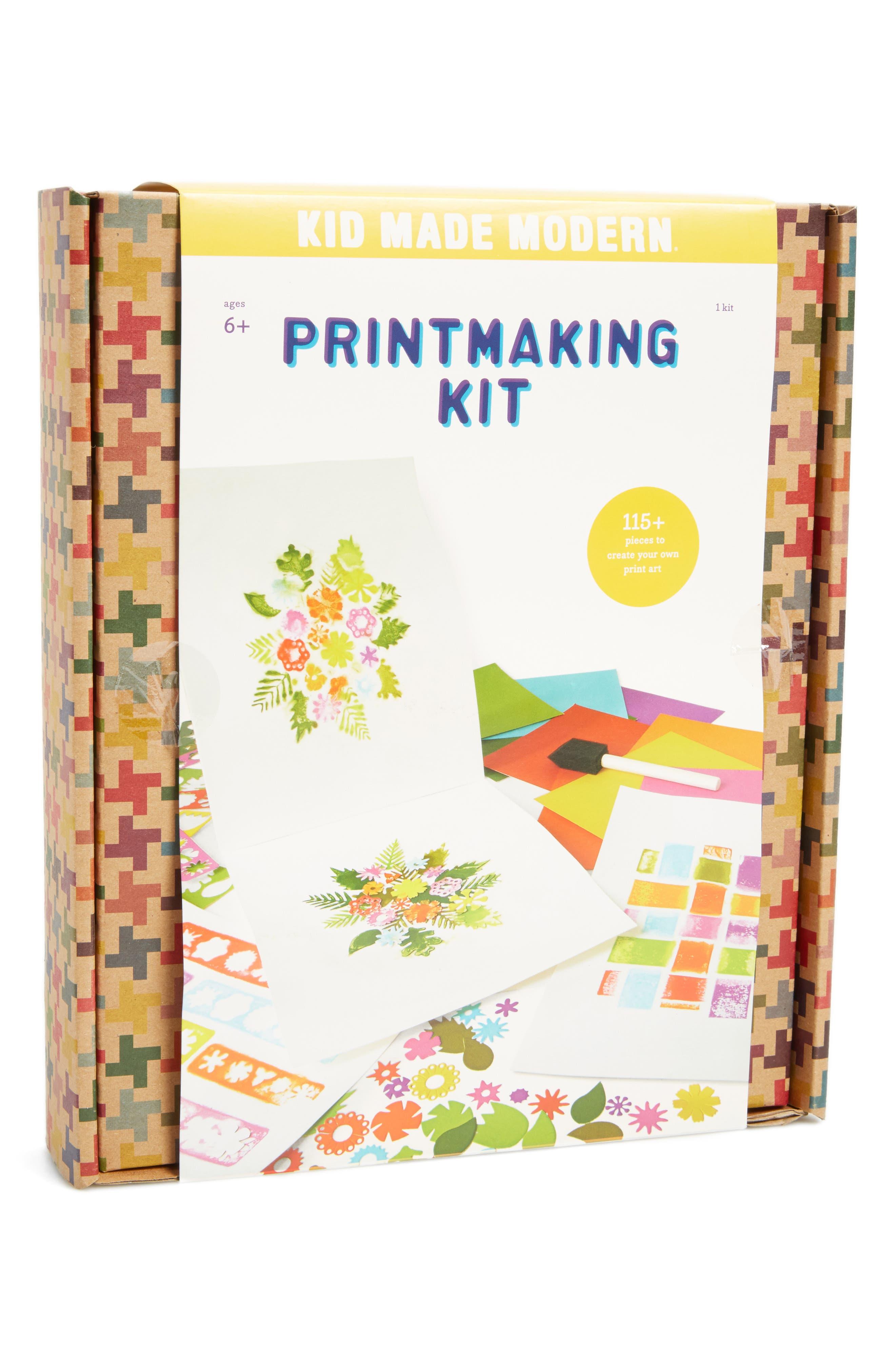 Printmaking Kit,                             Main thumbnail 1, color,                             Multi
