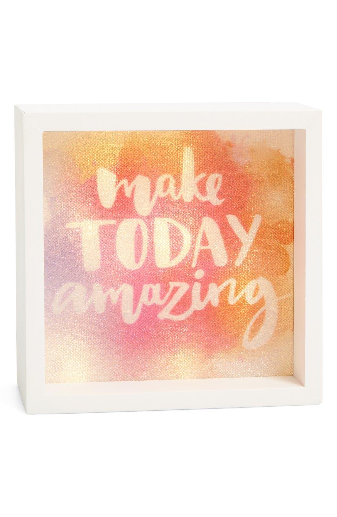 Main Image - LightBoxArts Make Today Amazing Tabletop Art