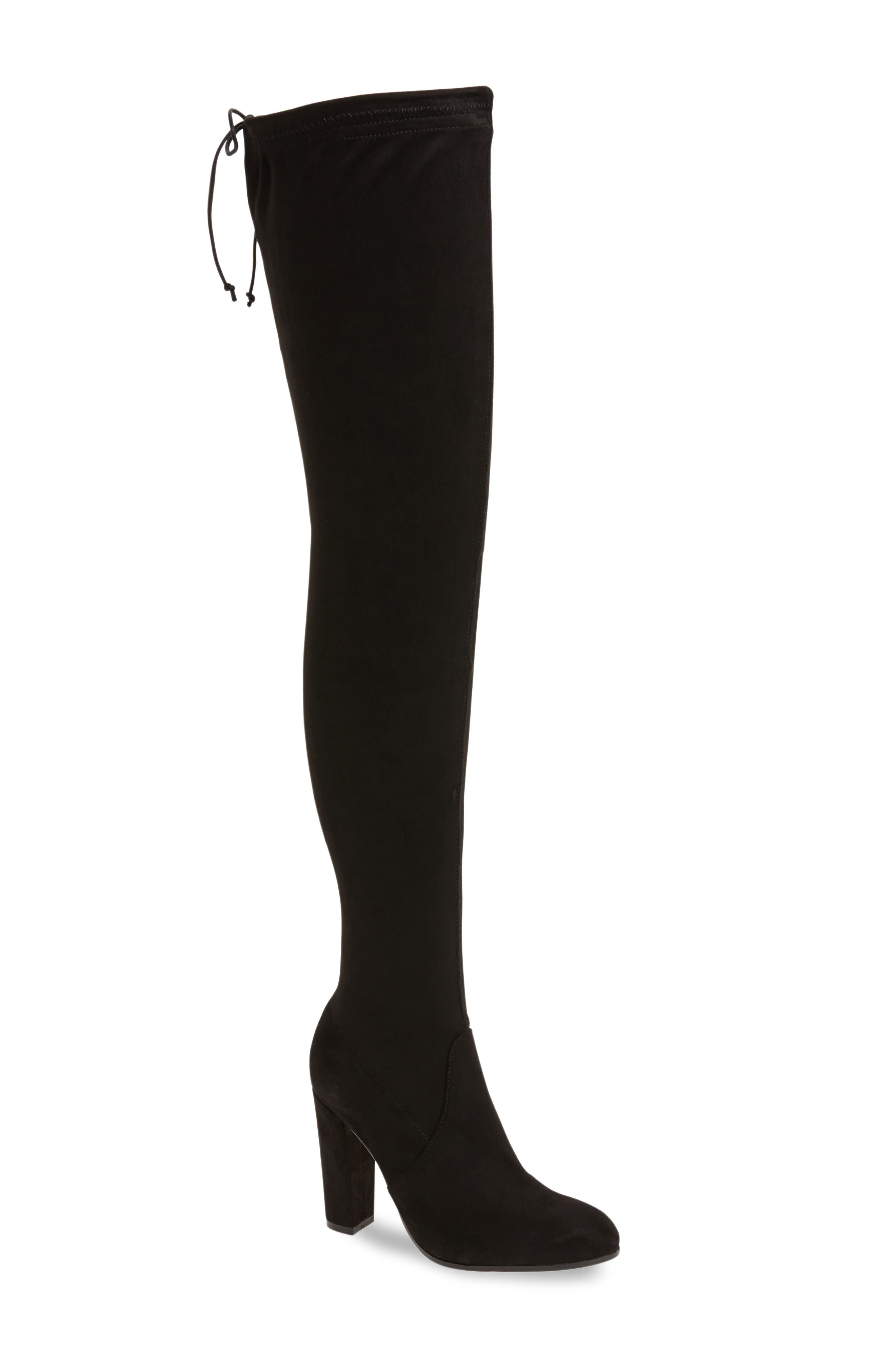 Tony Bianco Tash Over the Knee Stretch Boot (Women)