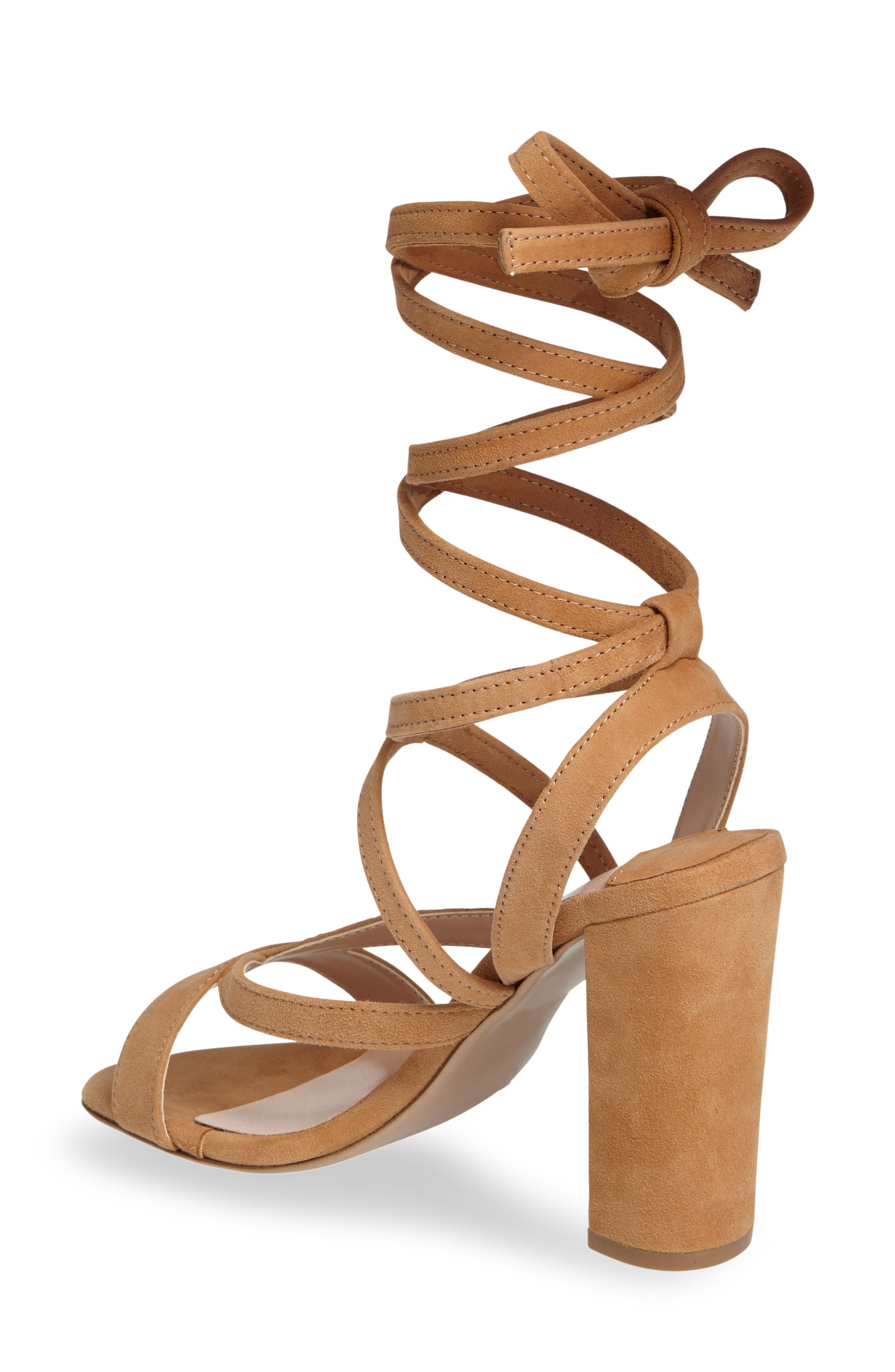 Alternate Image 2  - Tony Bianco Kappa Ankle Wrap Sandal (Women)