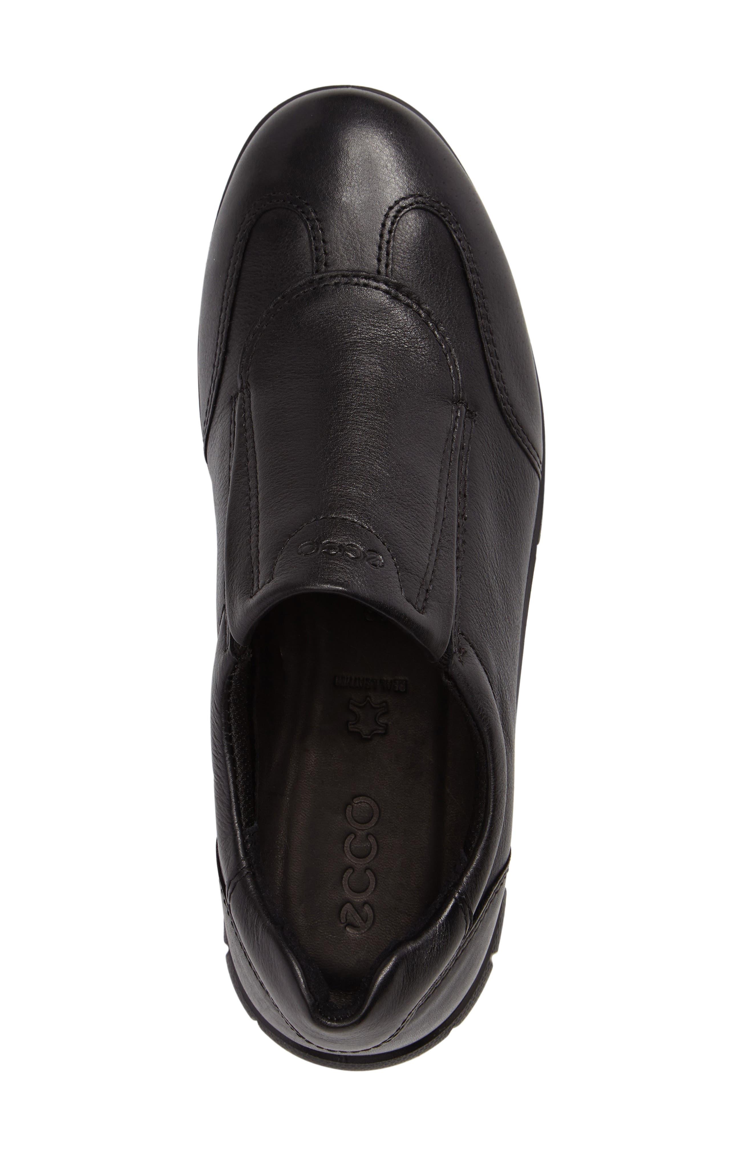 Babett II Slip-On,                             Alternate thumbnail 3, color,                             Black Leather