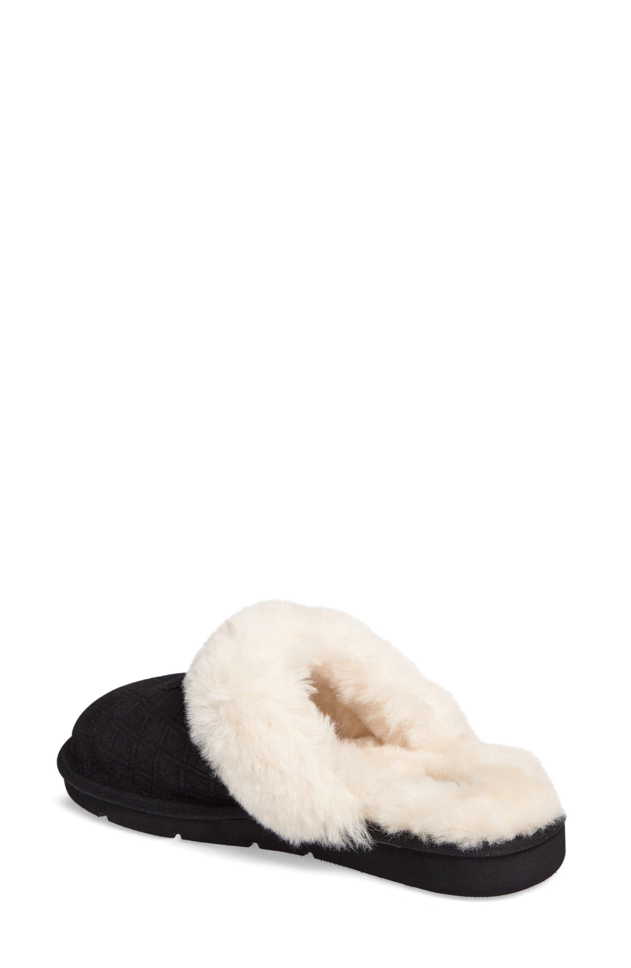 Alternate Image 2  - UGG® Cozy Genuine Shearling Slipper (Women)