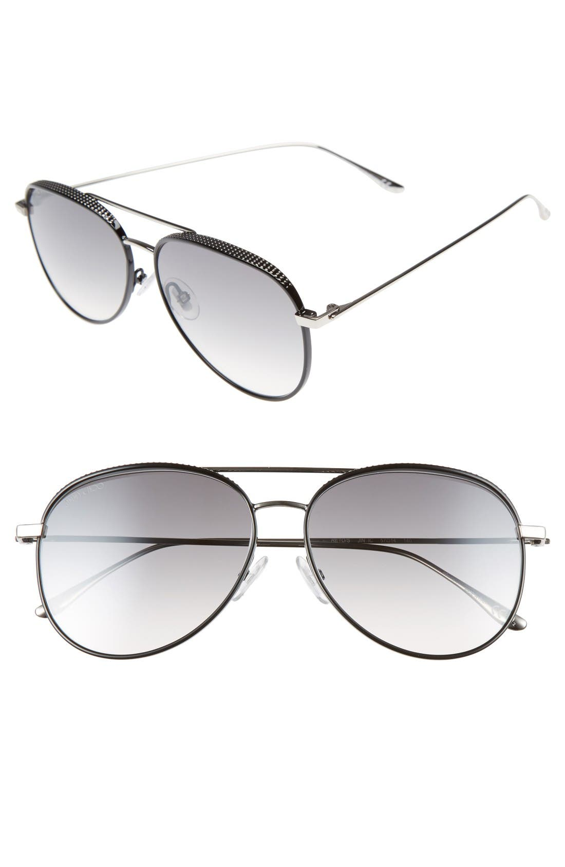 Jimmy Choo Reto 57mm Sunglasses