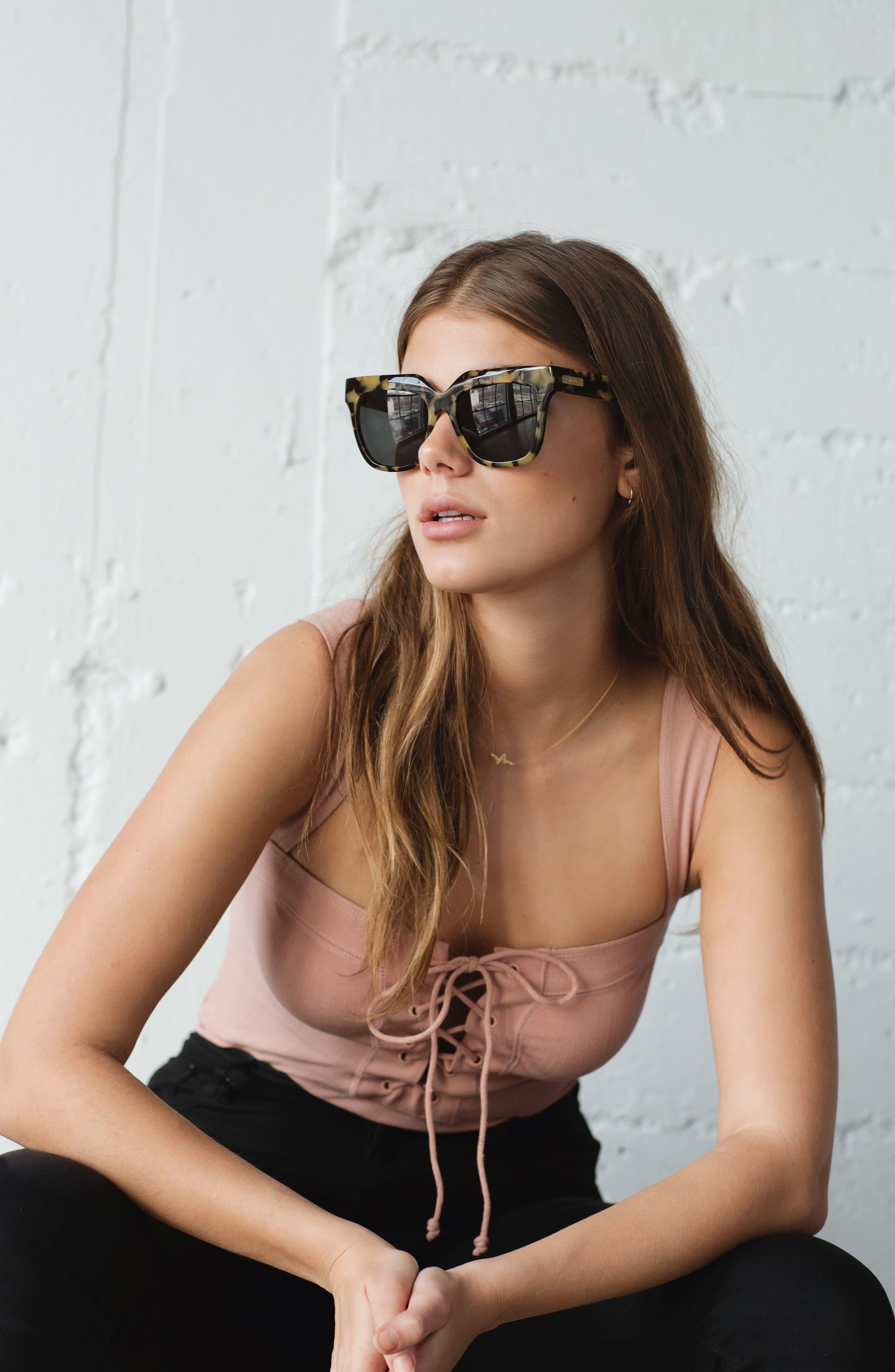Alternate Image 6  - Sonix Avalon 57mm Retro Sunglasses