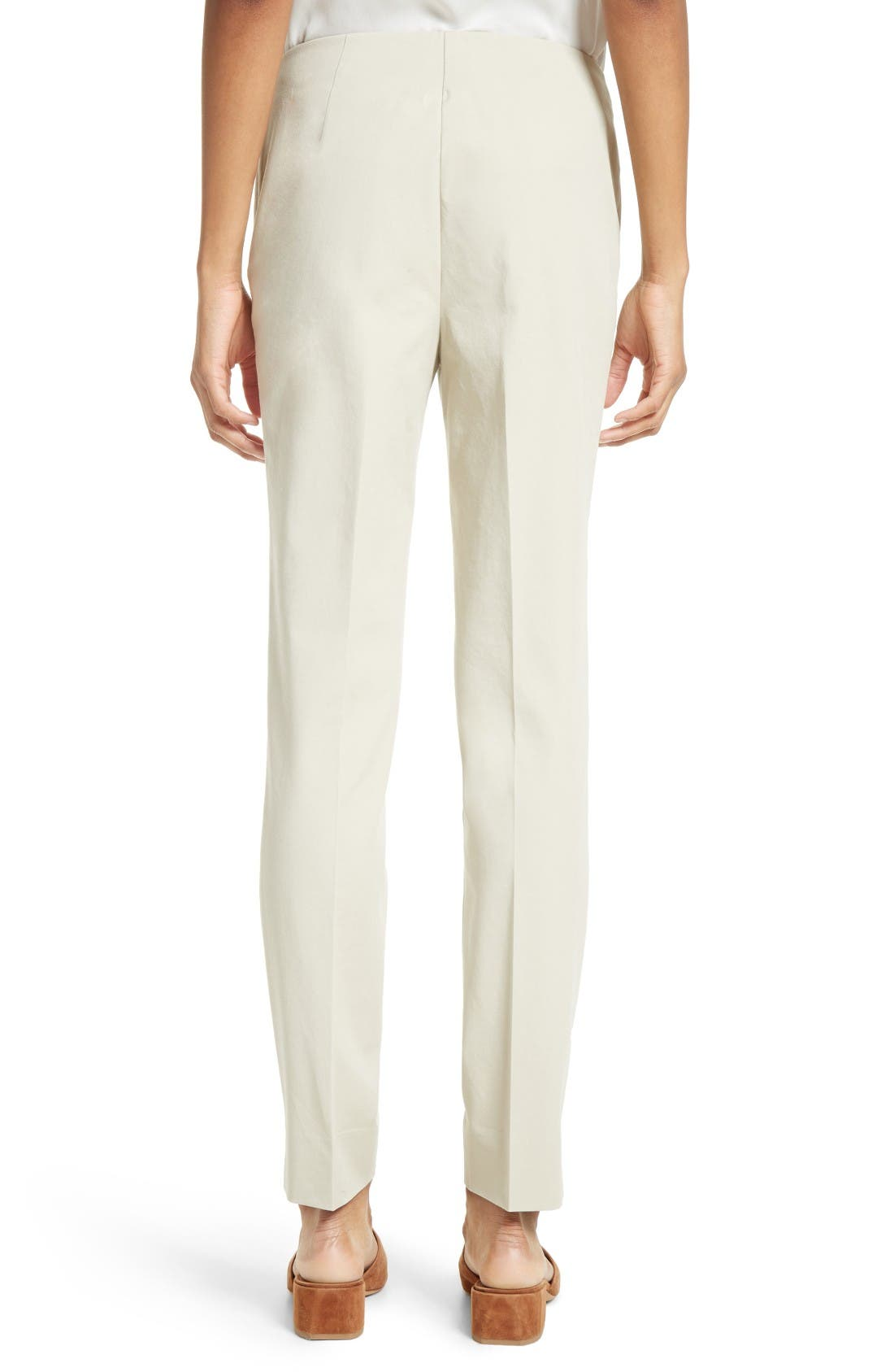 Alternate Image 2  - Lafayette 148 New York 'Chrystie' Stretch Twill Pants