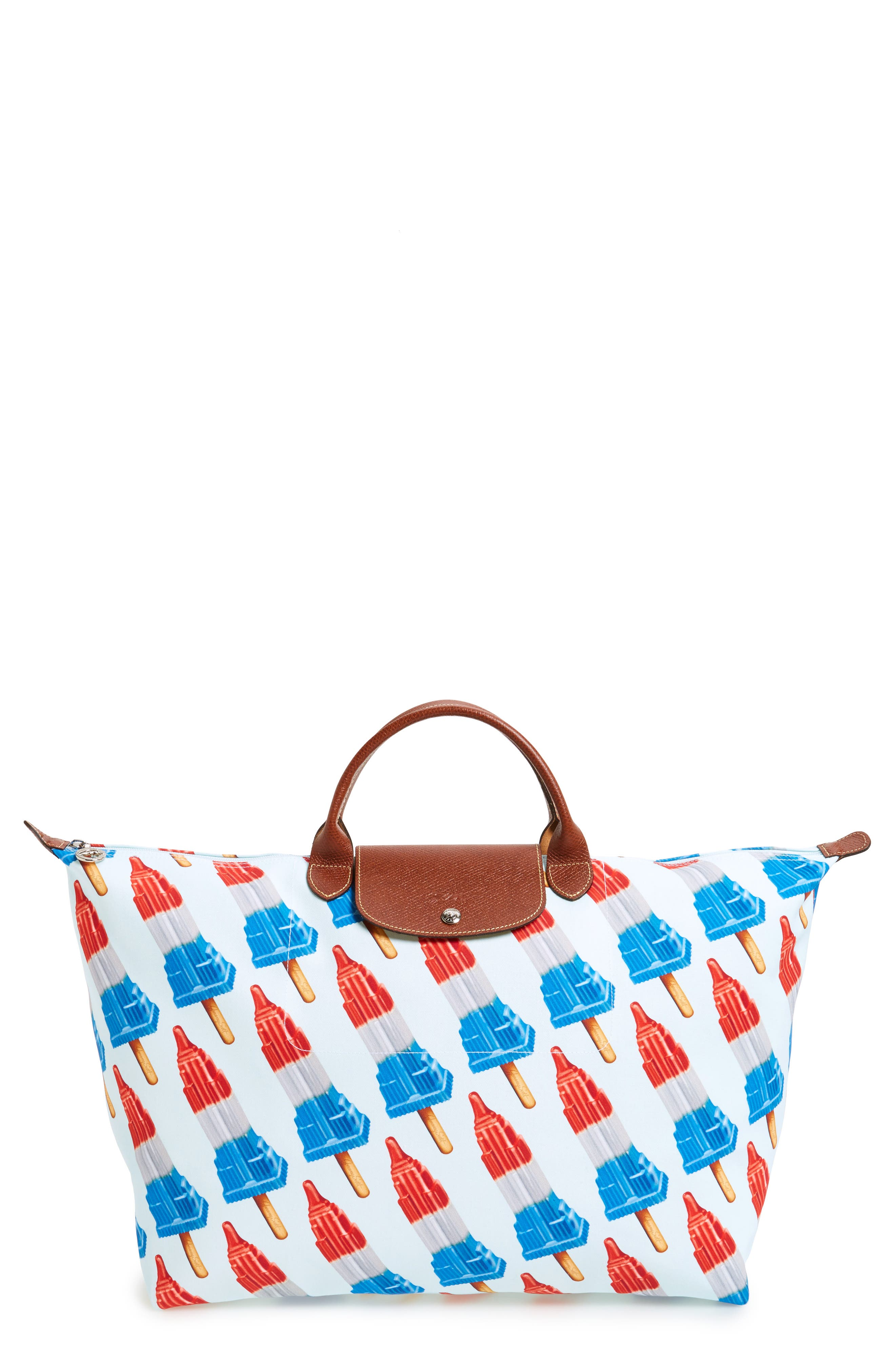 x Jeremy Scott Empire State Popsicle Tote,                             Main thumbnail 1, color,                             Multicolor