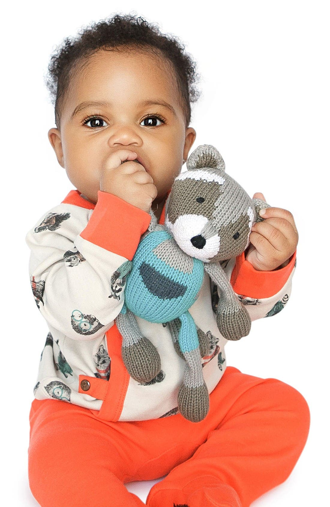 Ramsay Buddy & Hedgehog Rattle Set,                             Alternate thumbnail 3, color,                             Grey