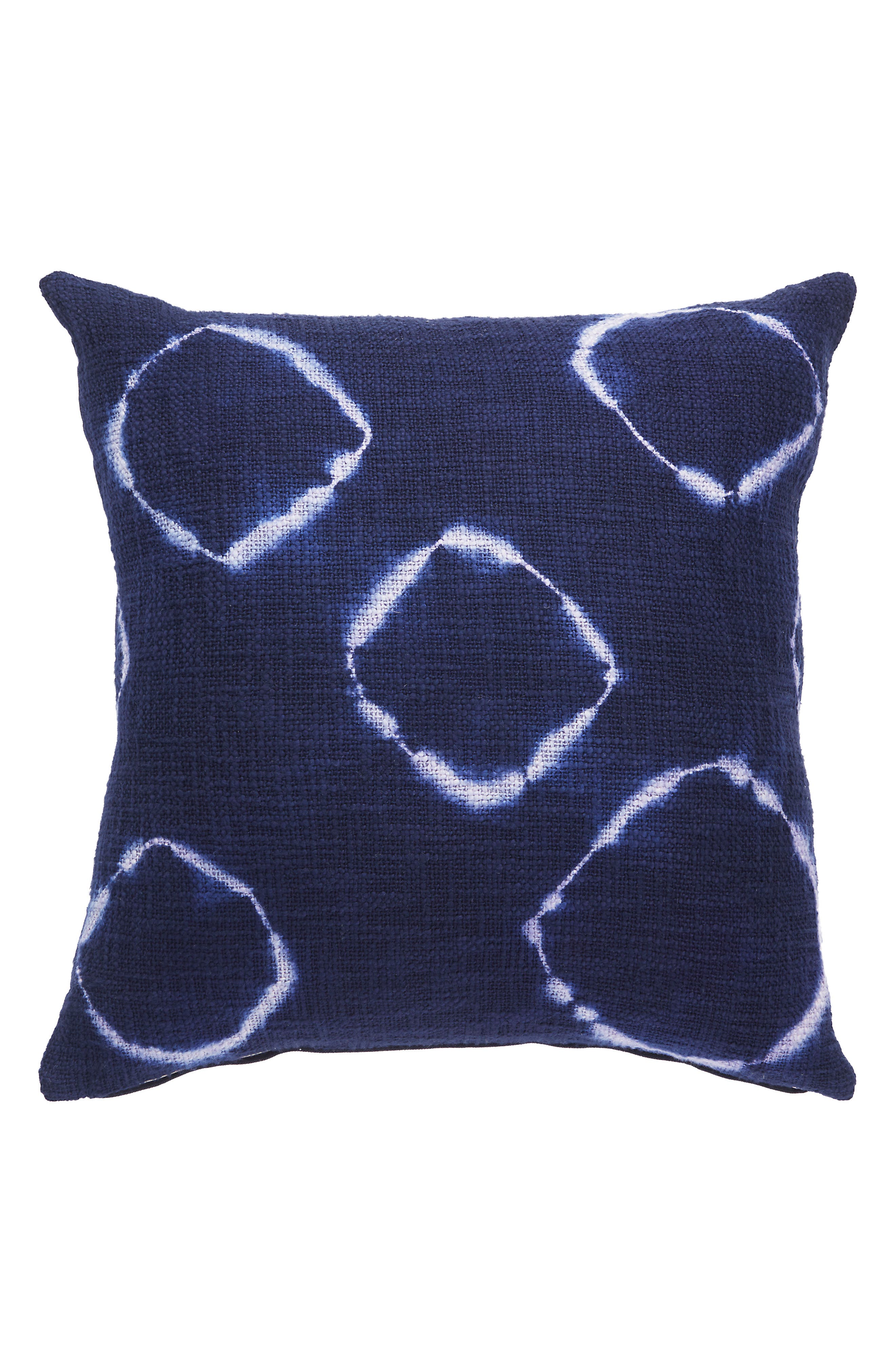 Alternate Image 1 Selected - Jaipur Medieval Blue Accent Pillow