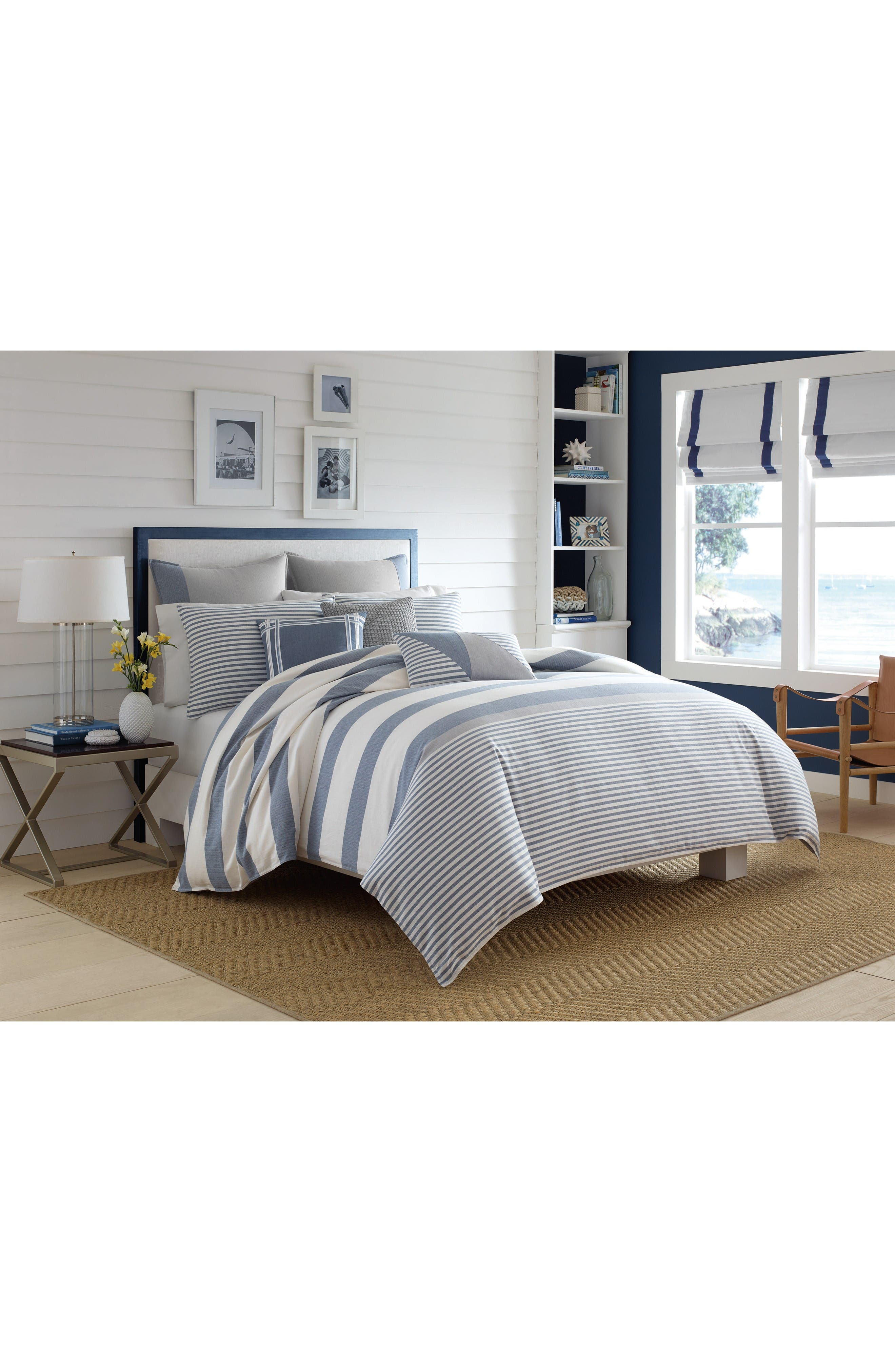 Fairwater Comforter & Sham Set,                             Alternate thumbnail 2, color,                             Blue