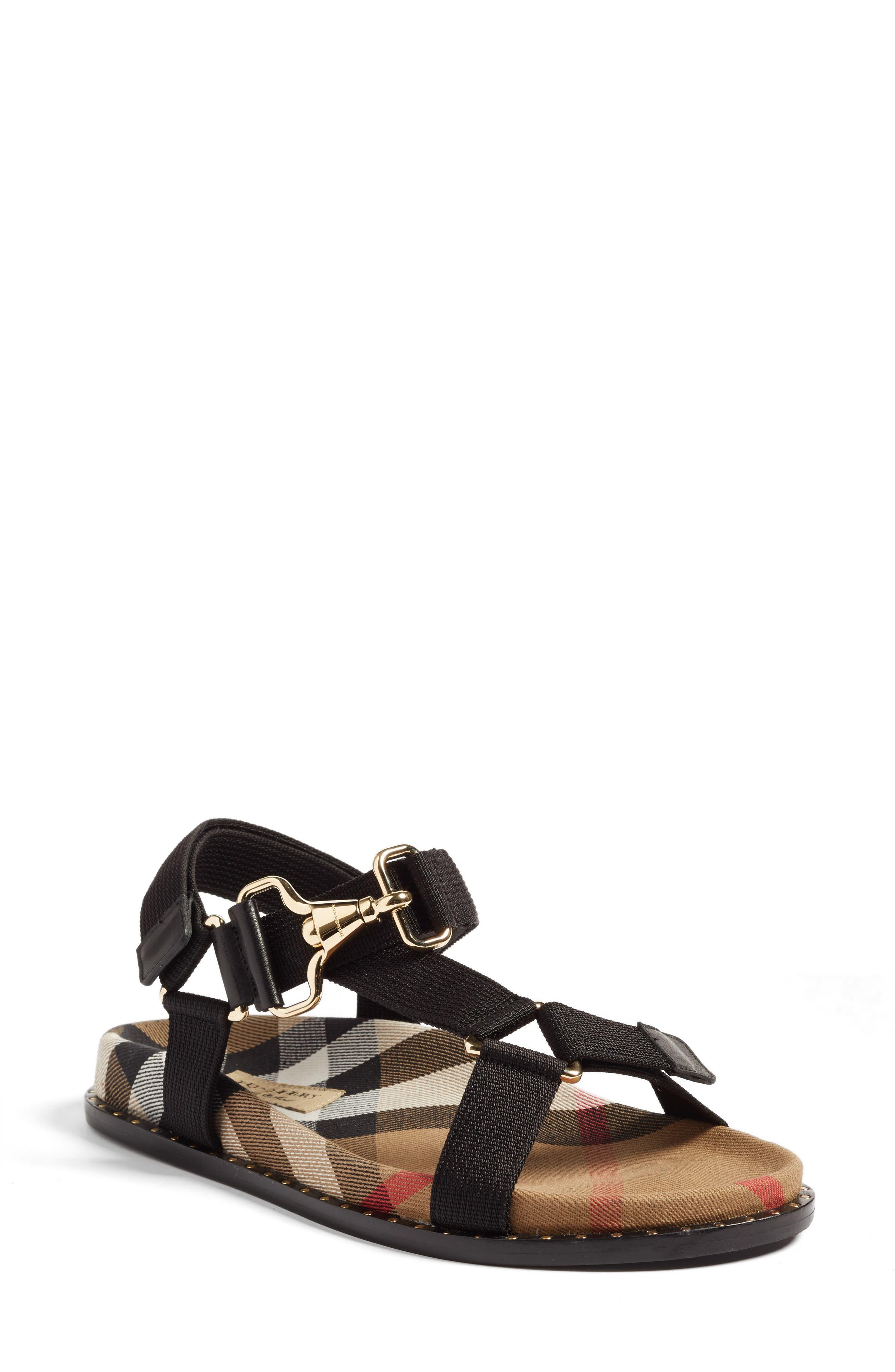 Ardall Sandal,                         Main,                         color, Black