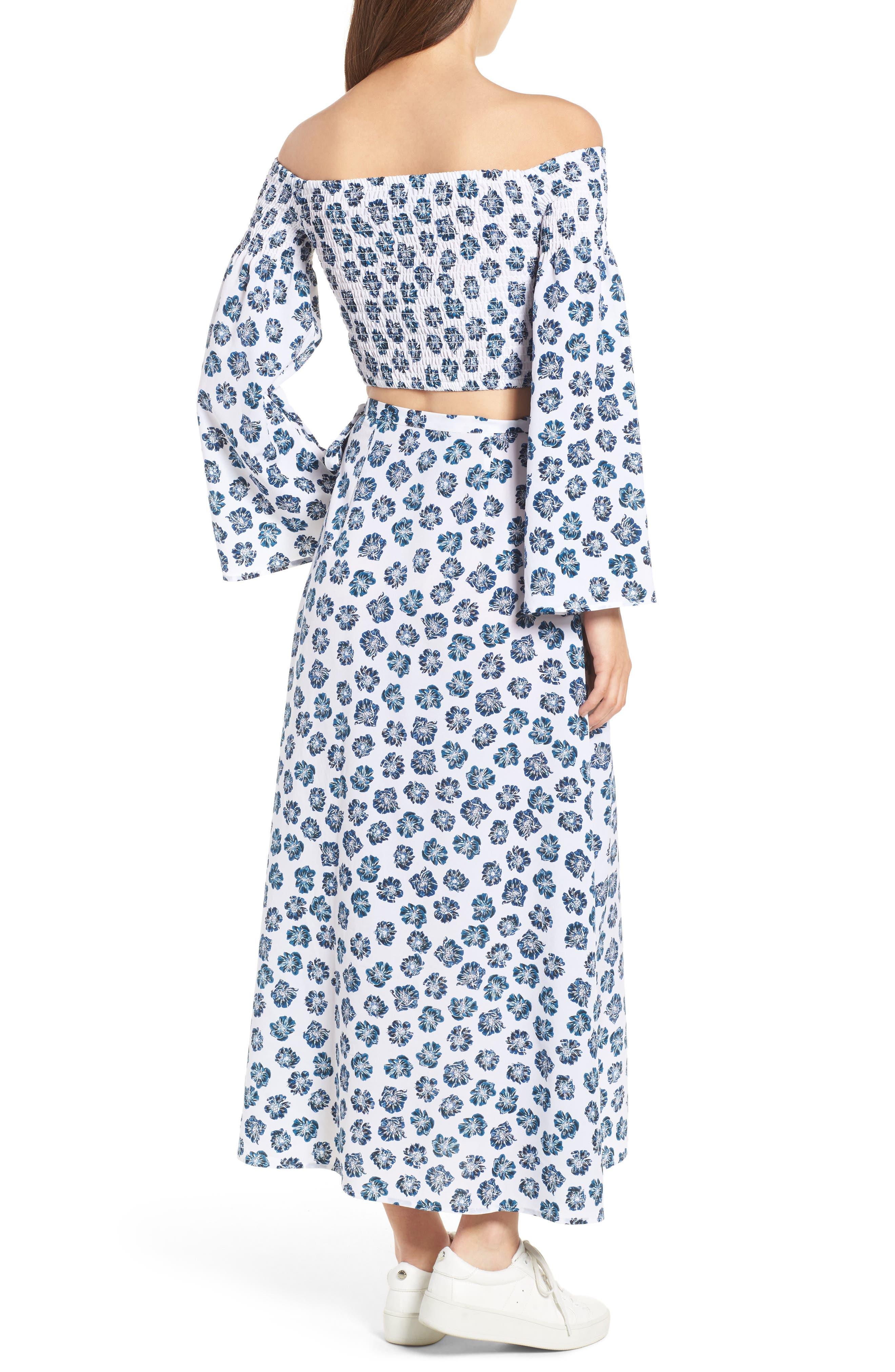 Alternate Image 3  - The Fifth Label Romancing Print Wrap Skirt