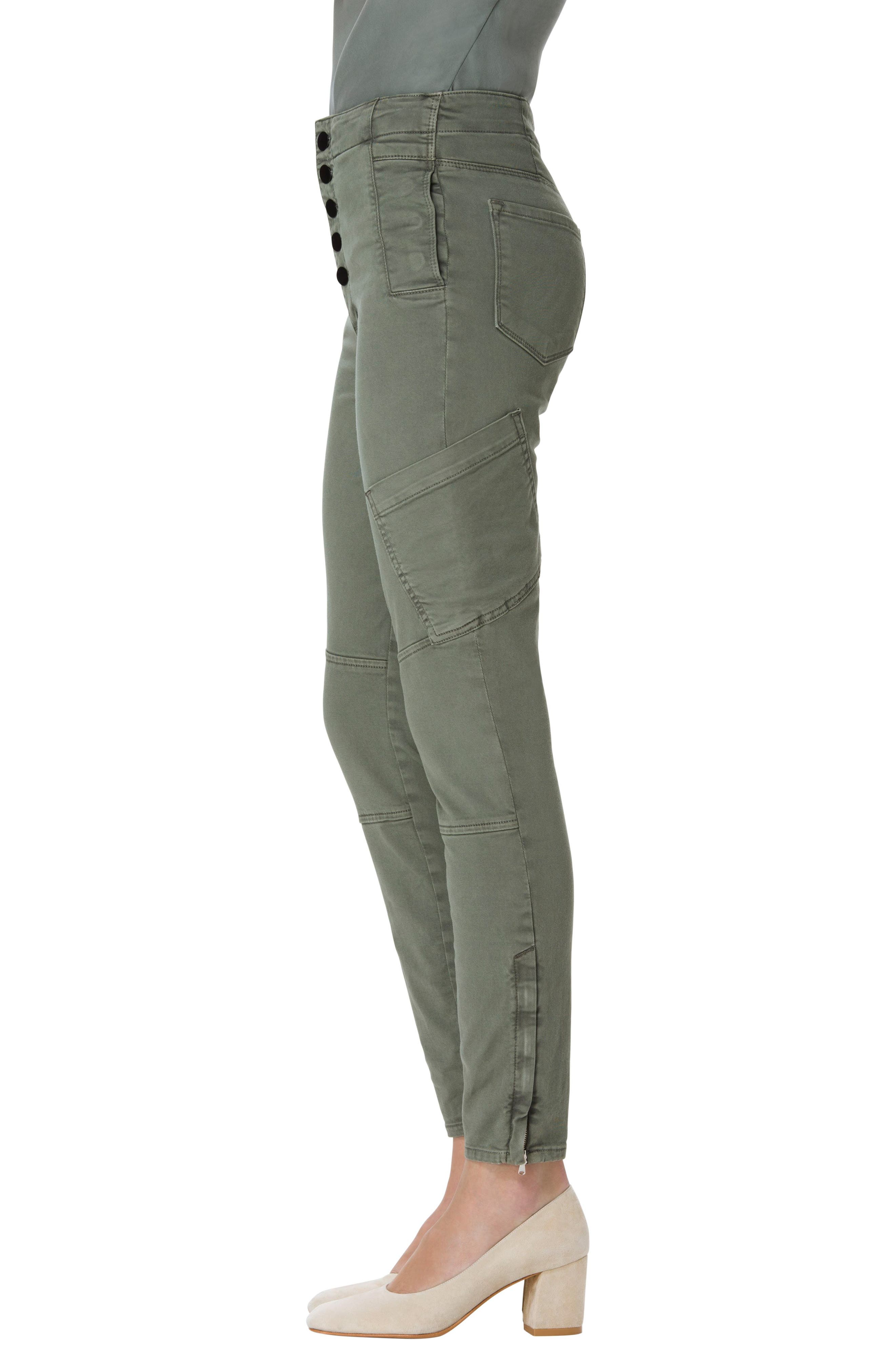 Alternate Image 3  - J Brand Brigitte Sky High Crop Utility Pants