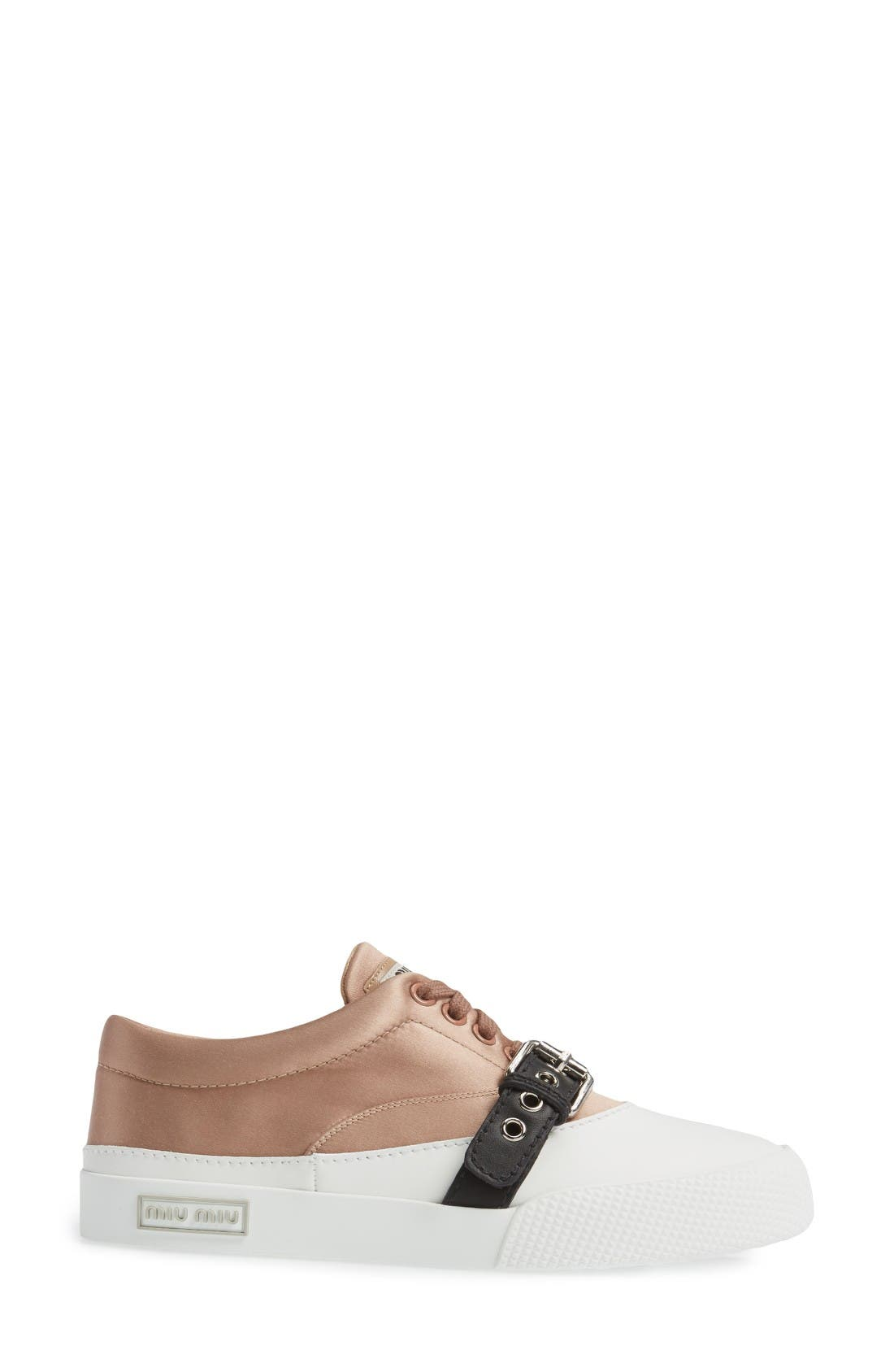 Alternate Image 4  - Miu Miu Belted Sneaker (Women)