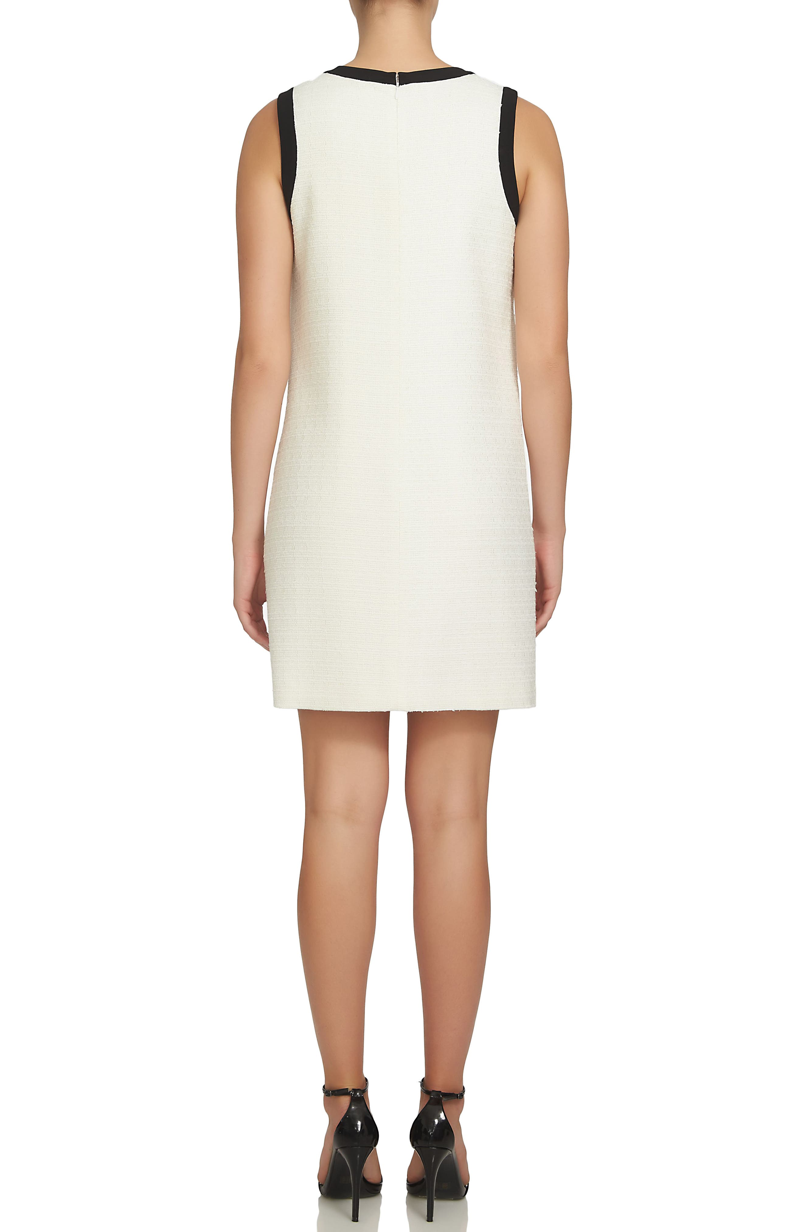 Camilla Shift Dress,                             Alternate thumbnail 2, color,                             New Ivory