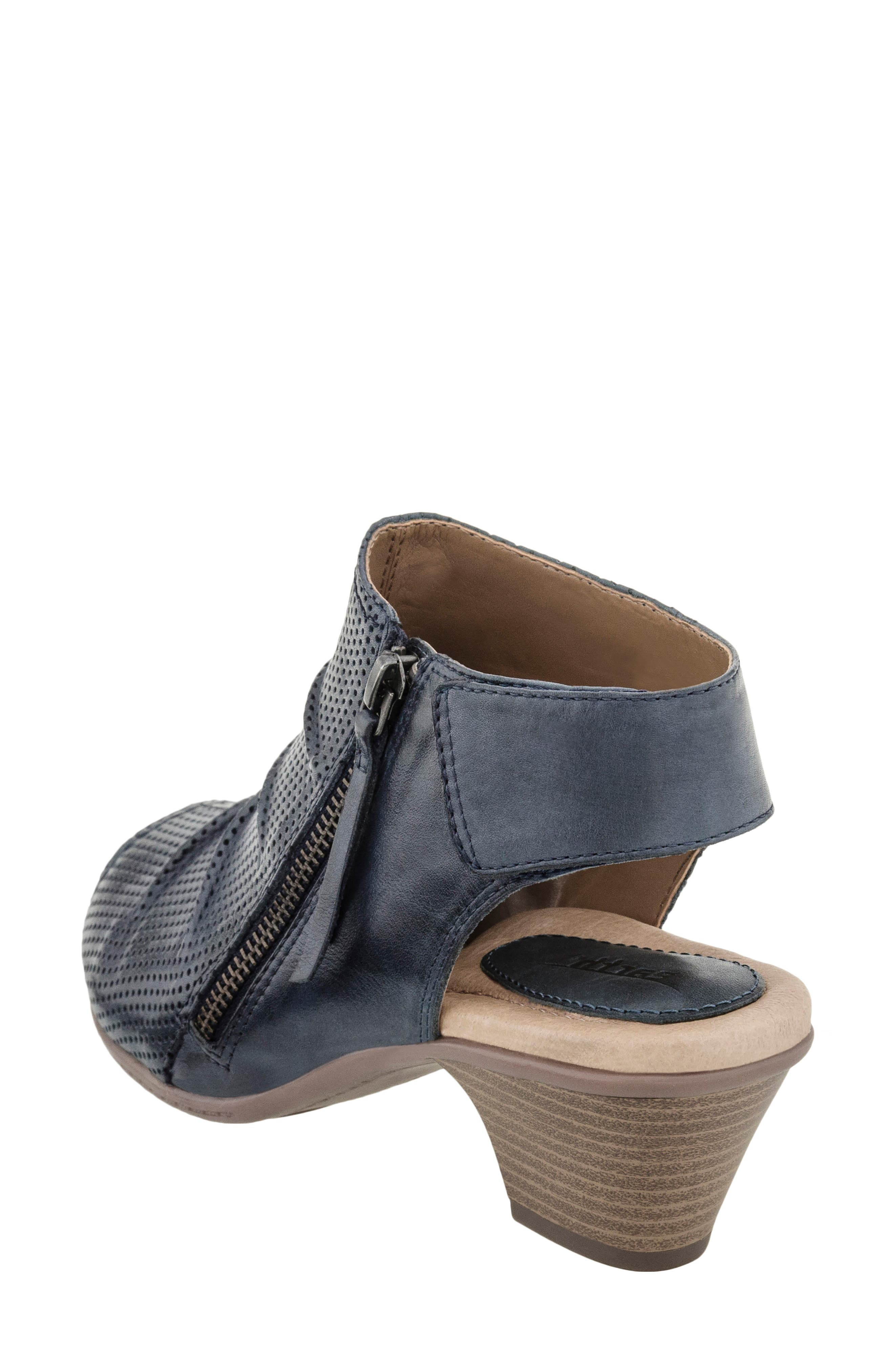 Hydra Sandal,                             Alternate thumbnail 2, color,                             Admiral Blue Soft Leather