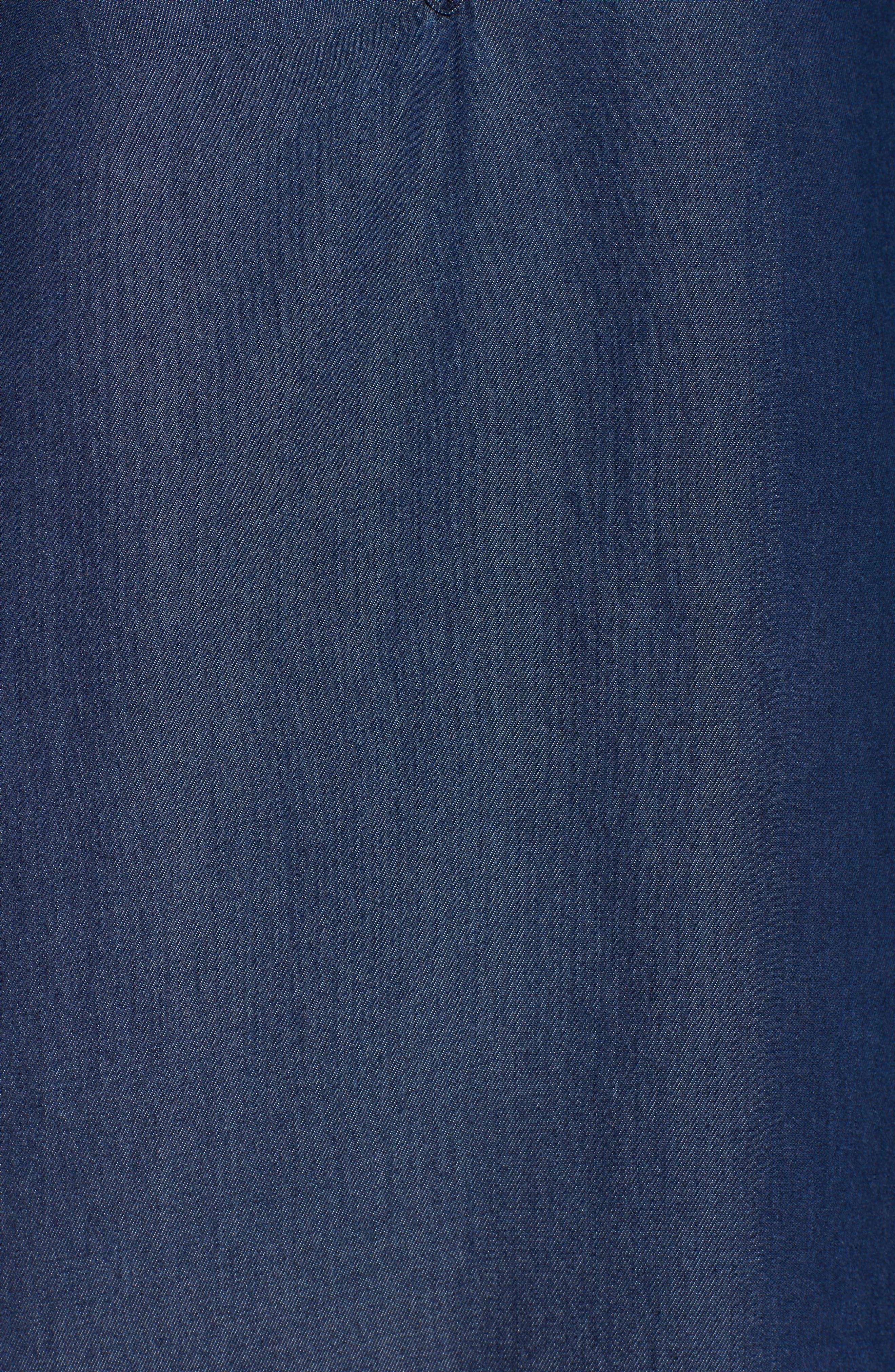 Alternate Image 5  - Fraiche by J Denim Shift Dress