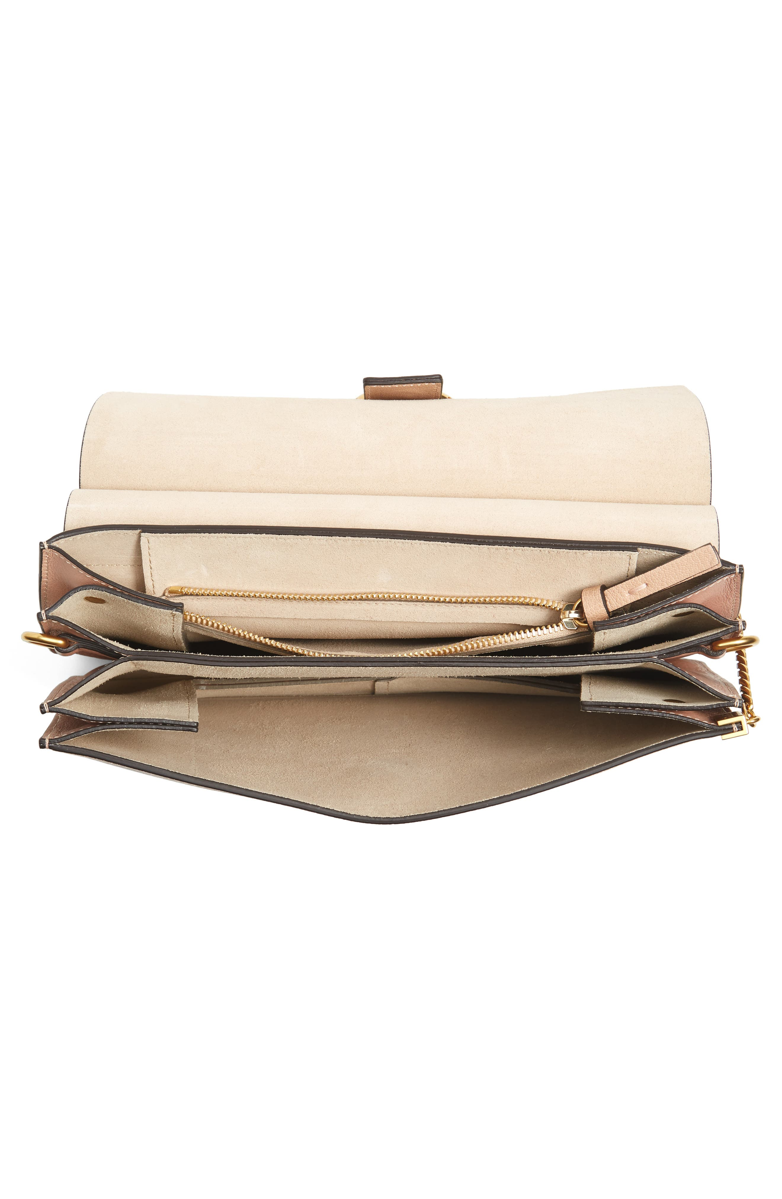 Alternate Image 4  - Chloé Faye Goatskin Leather Shoulder Bag