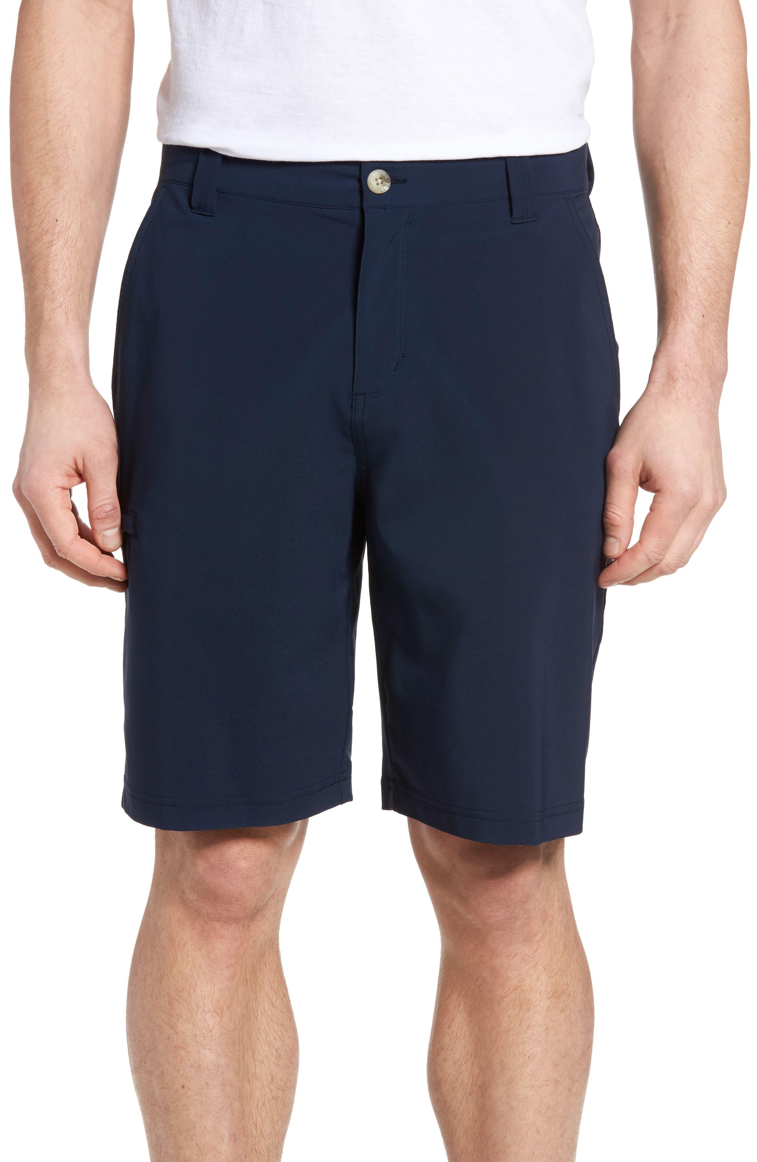 PFG Grander Marlin II Shorts,                         Main,                         color, Collegiate Navy