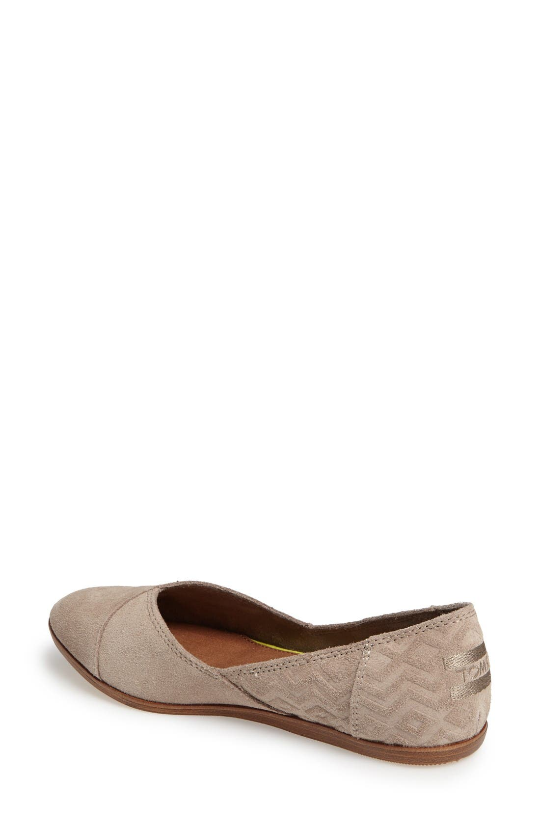 Alternate Image 2  - TOMS Jutti Flat (Women)