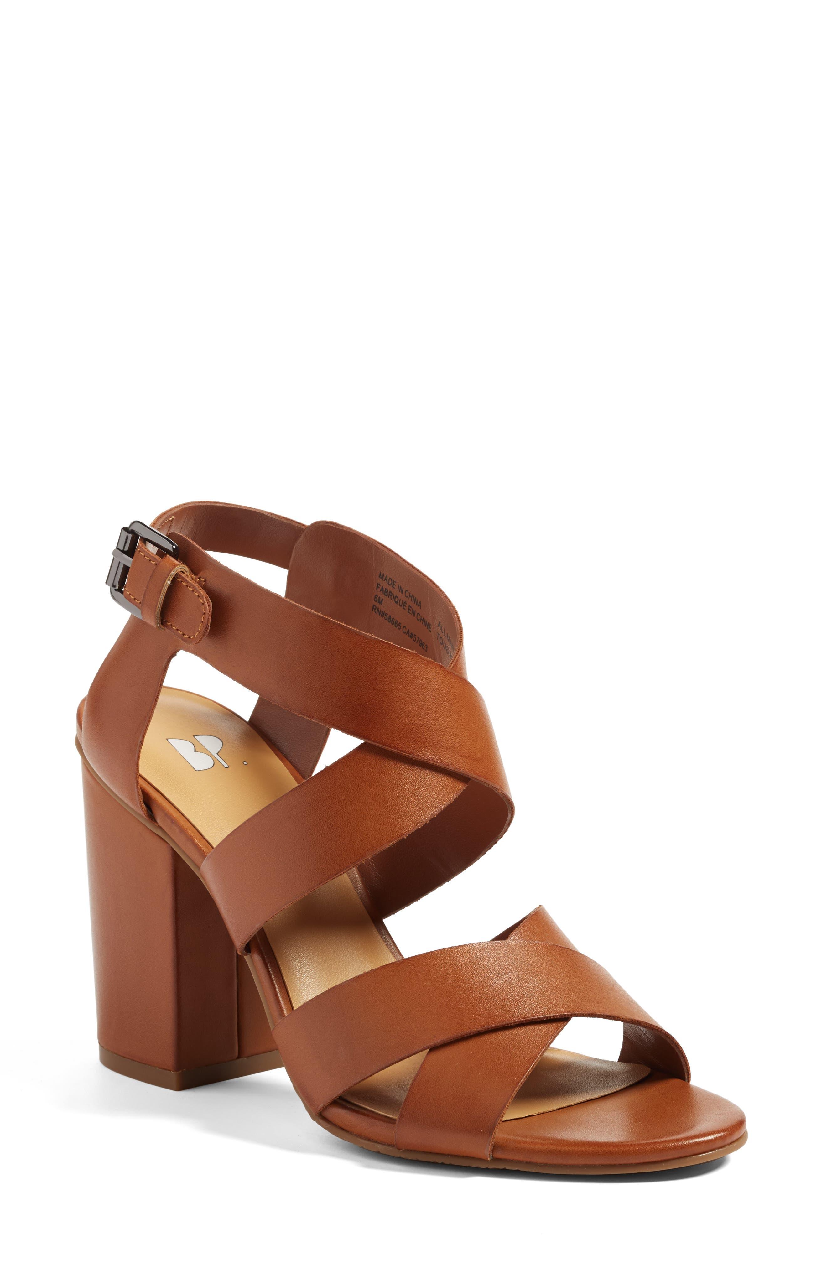 BP. Terry Block Heel Sandal (Women)