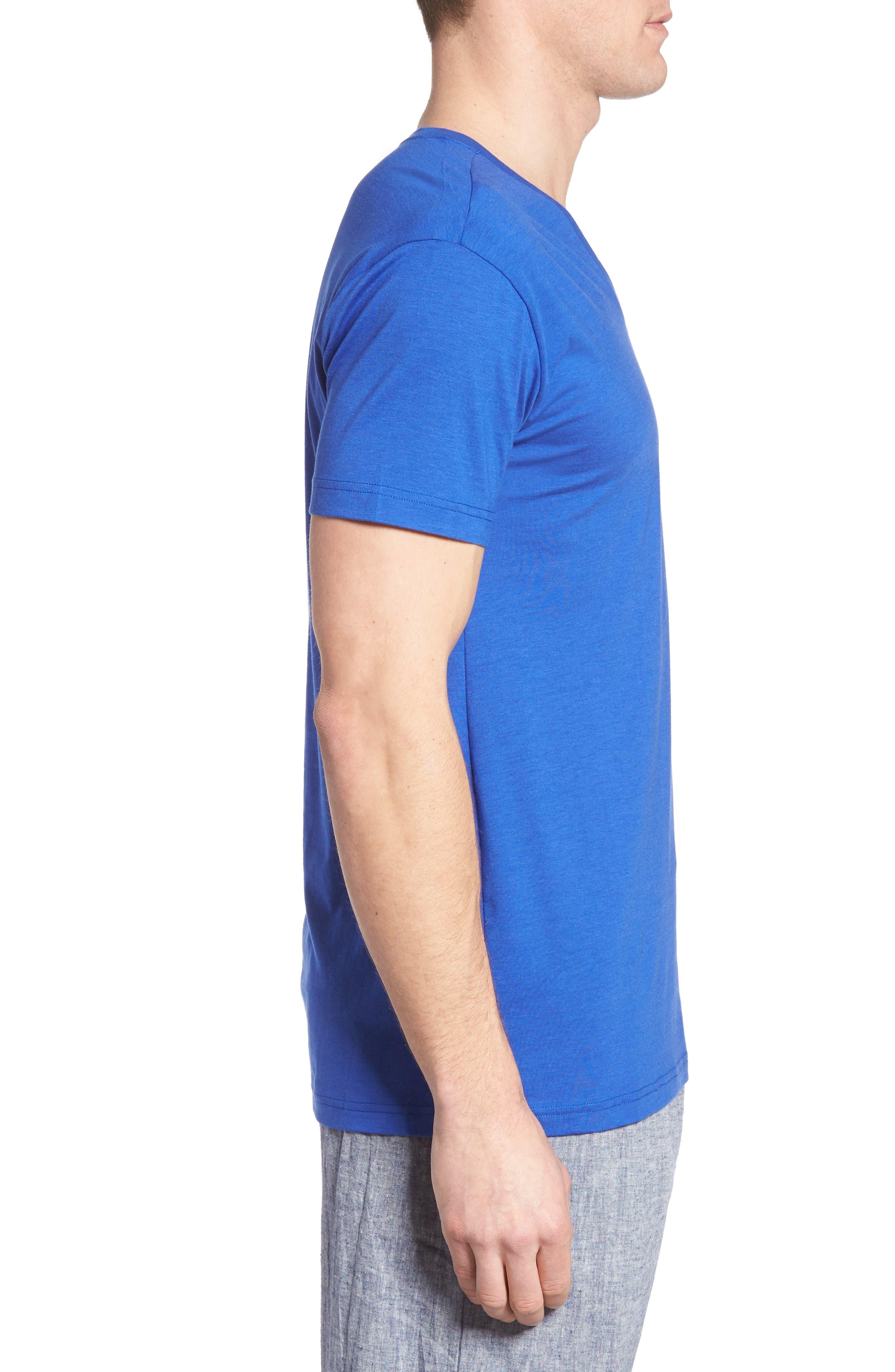 Alternate Image 4  - Polo Ralph Lauren Lounge V-Neck T-Shirt