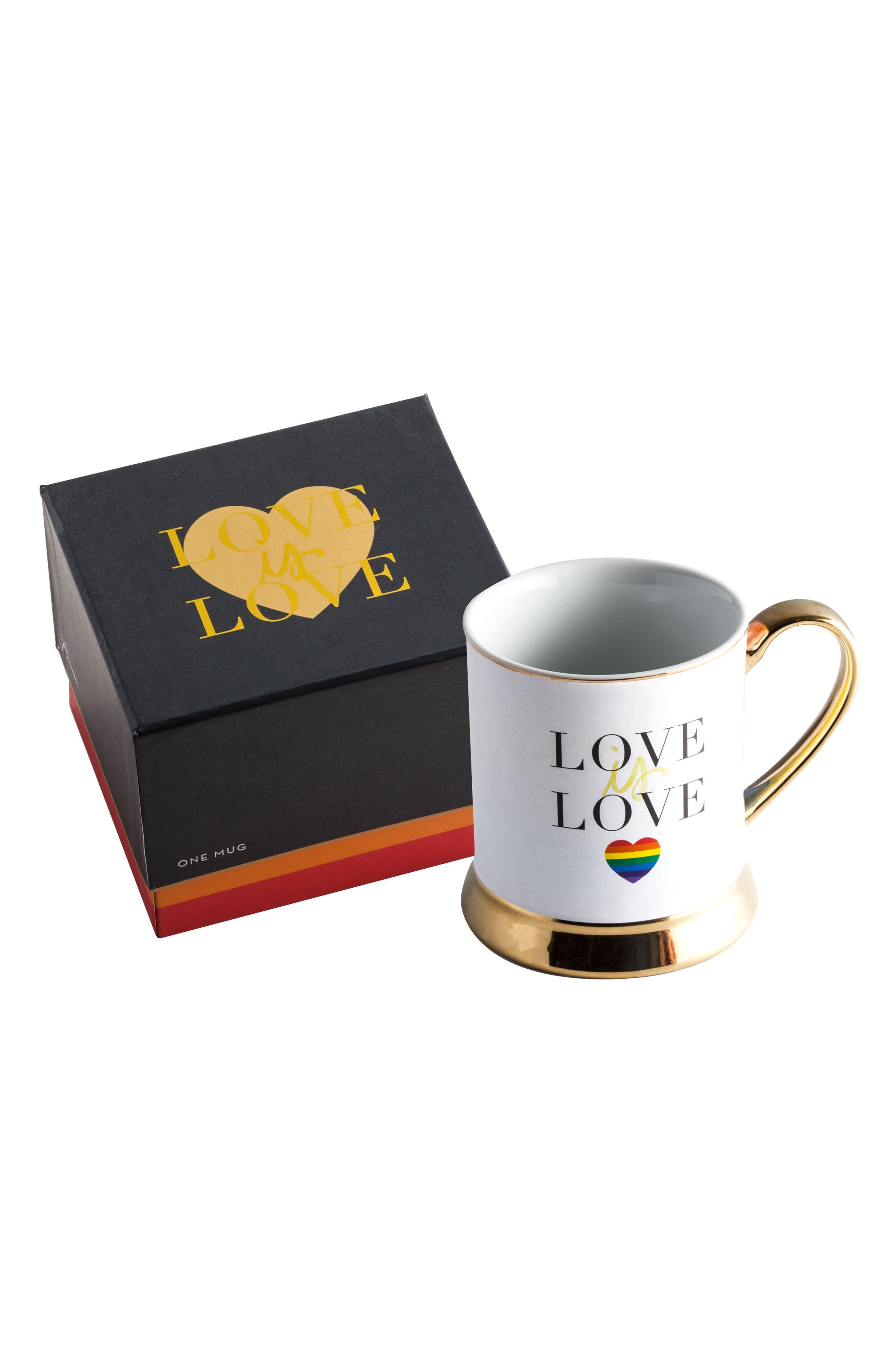 Rosanna Love Is Love Porcelain Mug