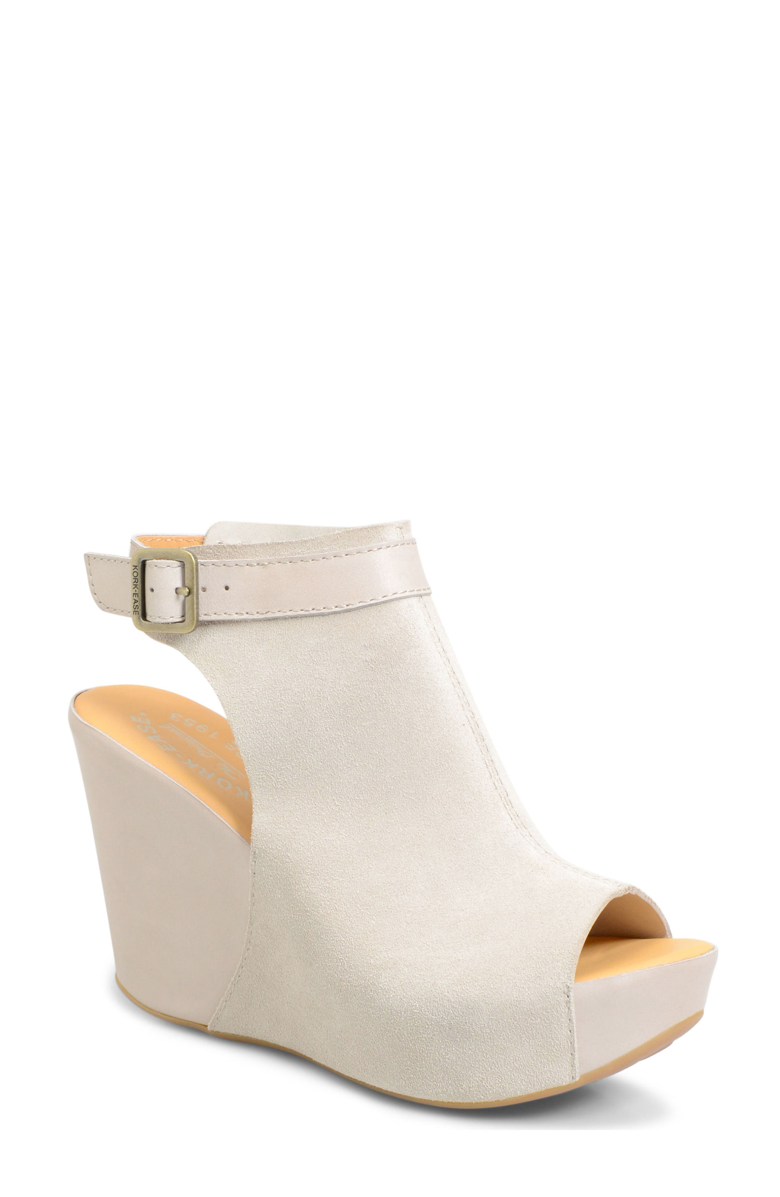 Kork-Ease® 'Berit' Wedge Sandal (Women)
