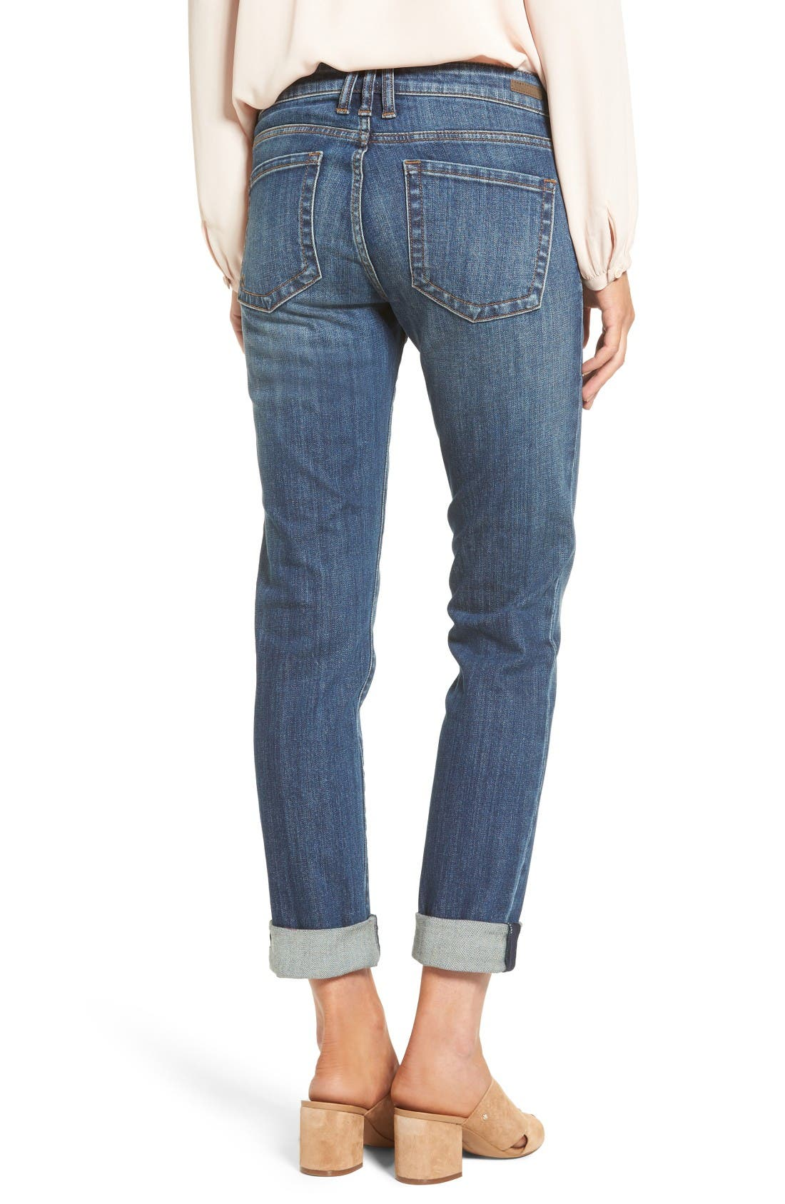 Alternate Image 2  - KUT from the Kloth Catherine Boyfriend Jeans (Doubtless)