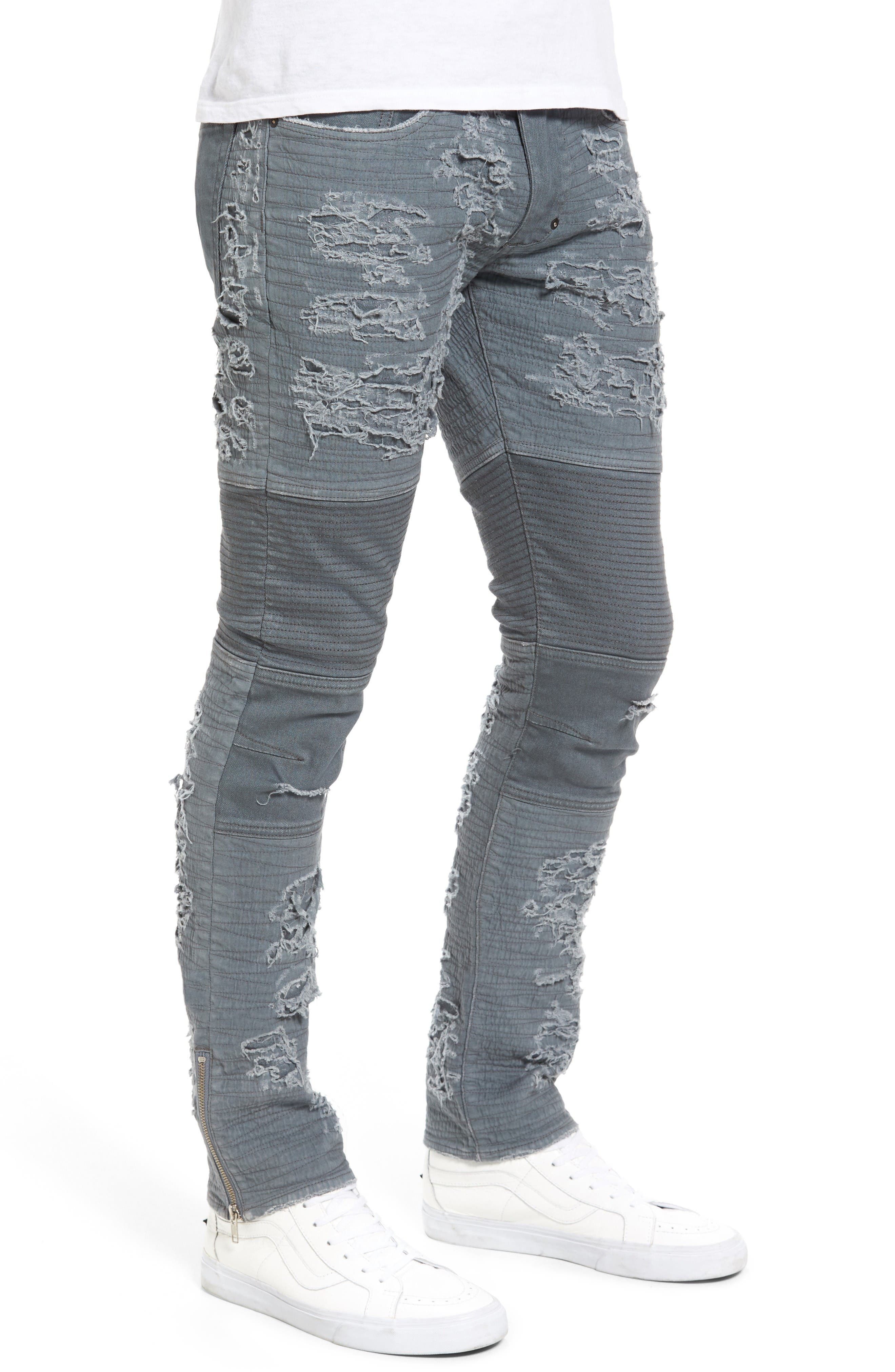 Windsor Slim Fit Jeans,                             Alternate thumbnail 3, color,                             Dark Grey