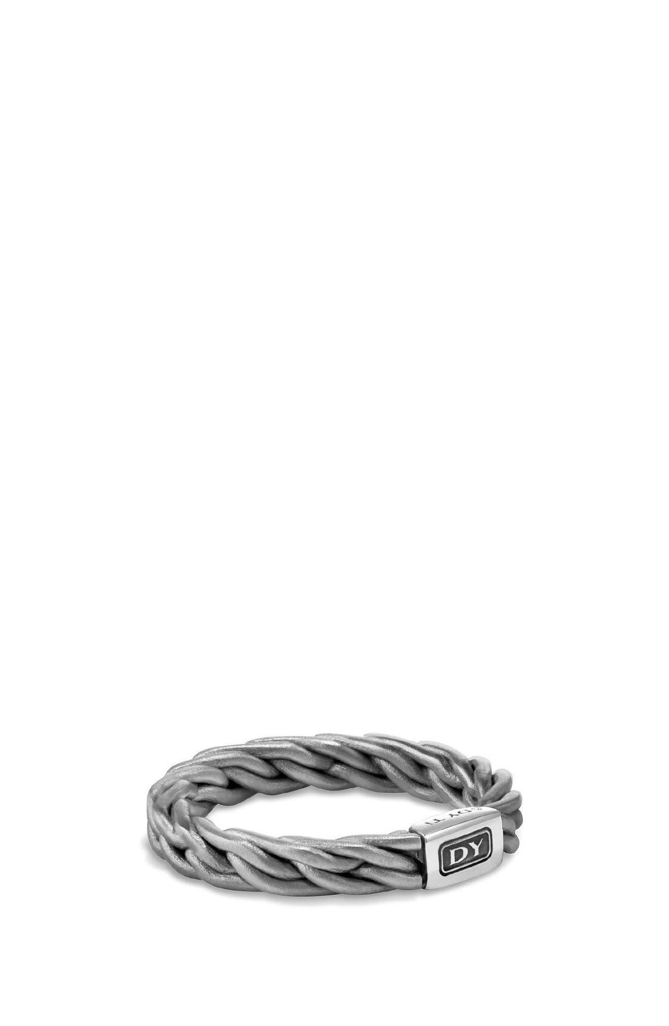 Titanium Band Ring,                             Main thumbnail 1, color,                             Grey/ Titanium