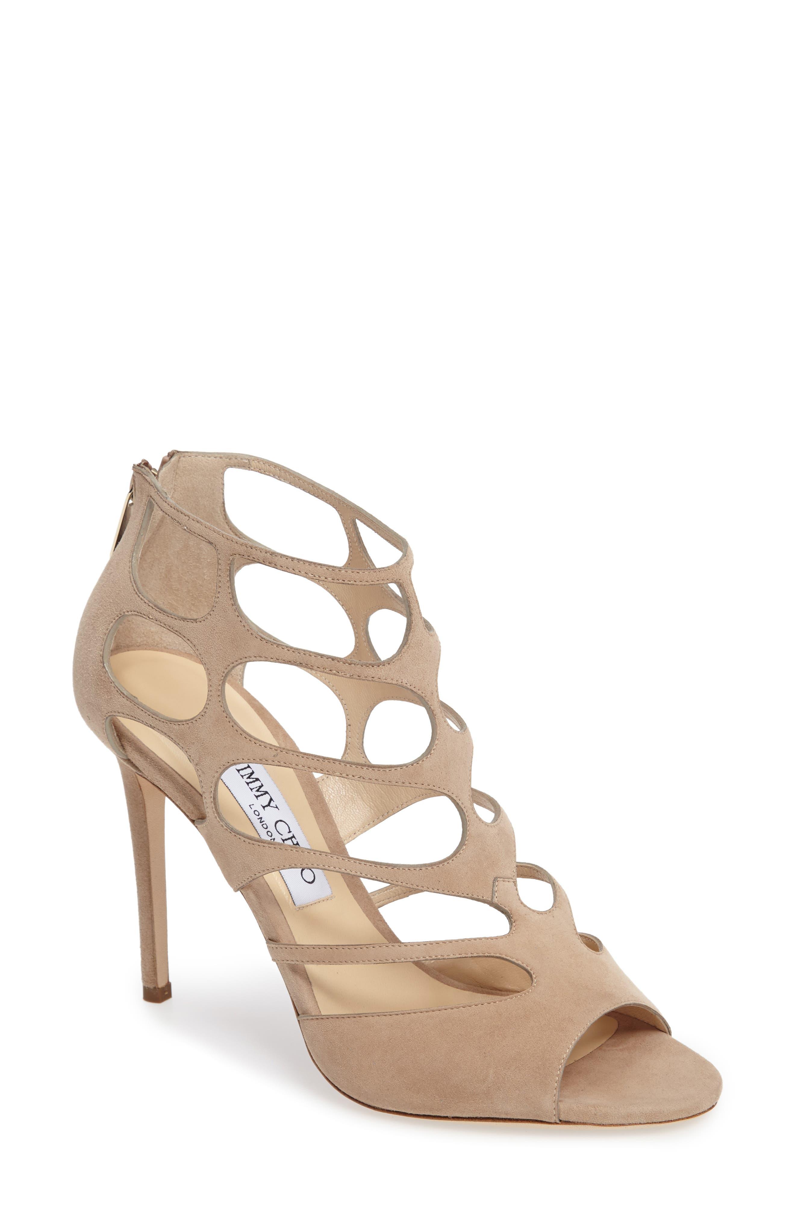 Jimmy Choo 'Ren' Cutout Sandal (Women)