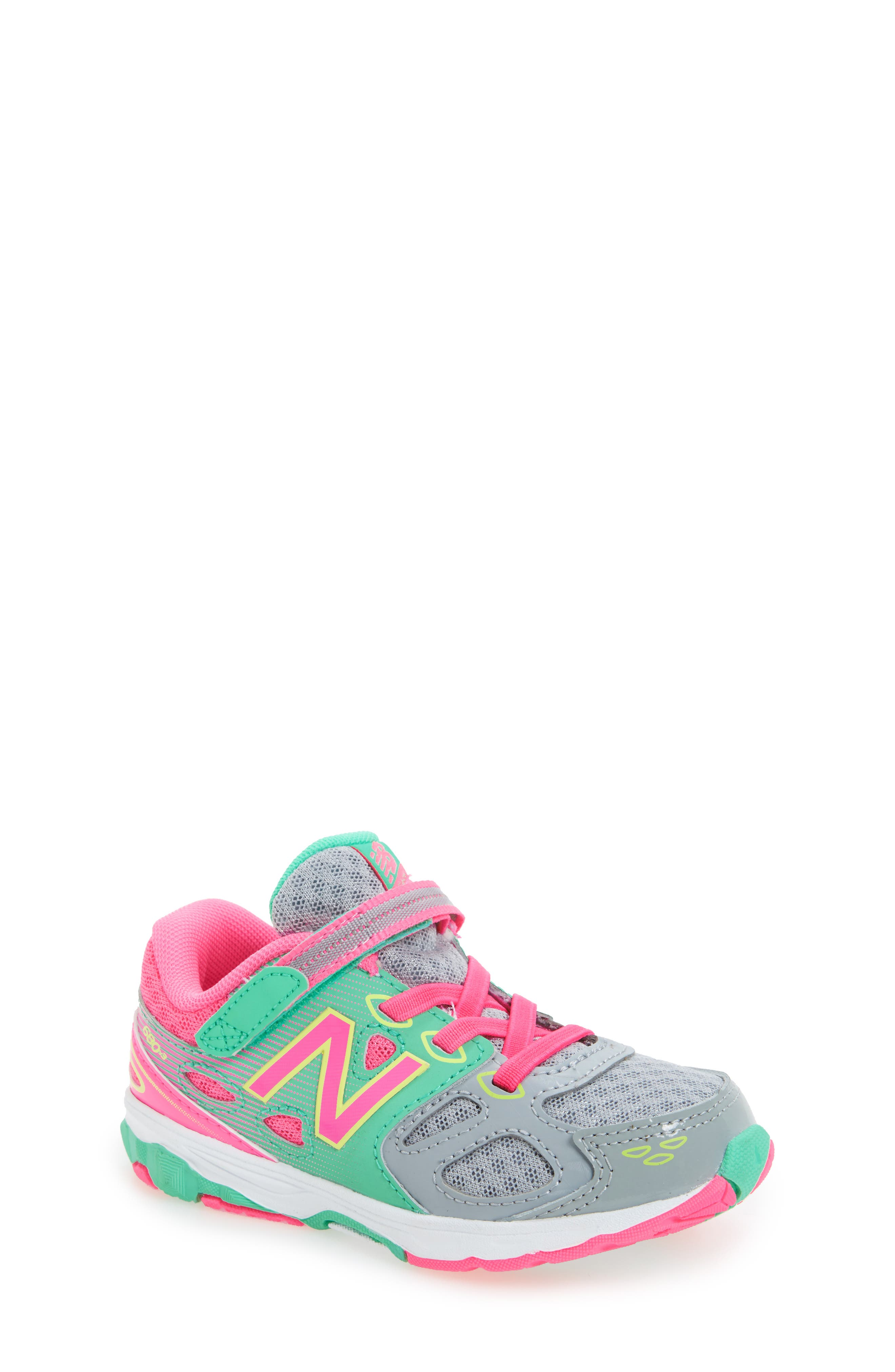Alternate Image 1 Selected - New Balance 680v3 Sneaker (Baby, Walker, Toddler, Little Kid & Big Kid)