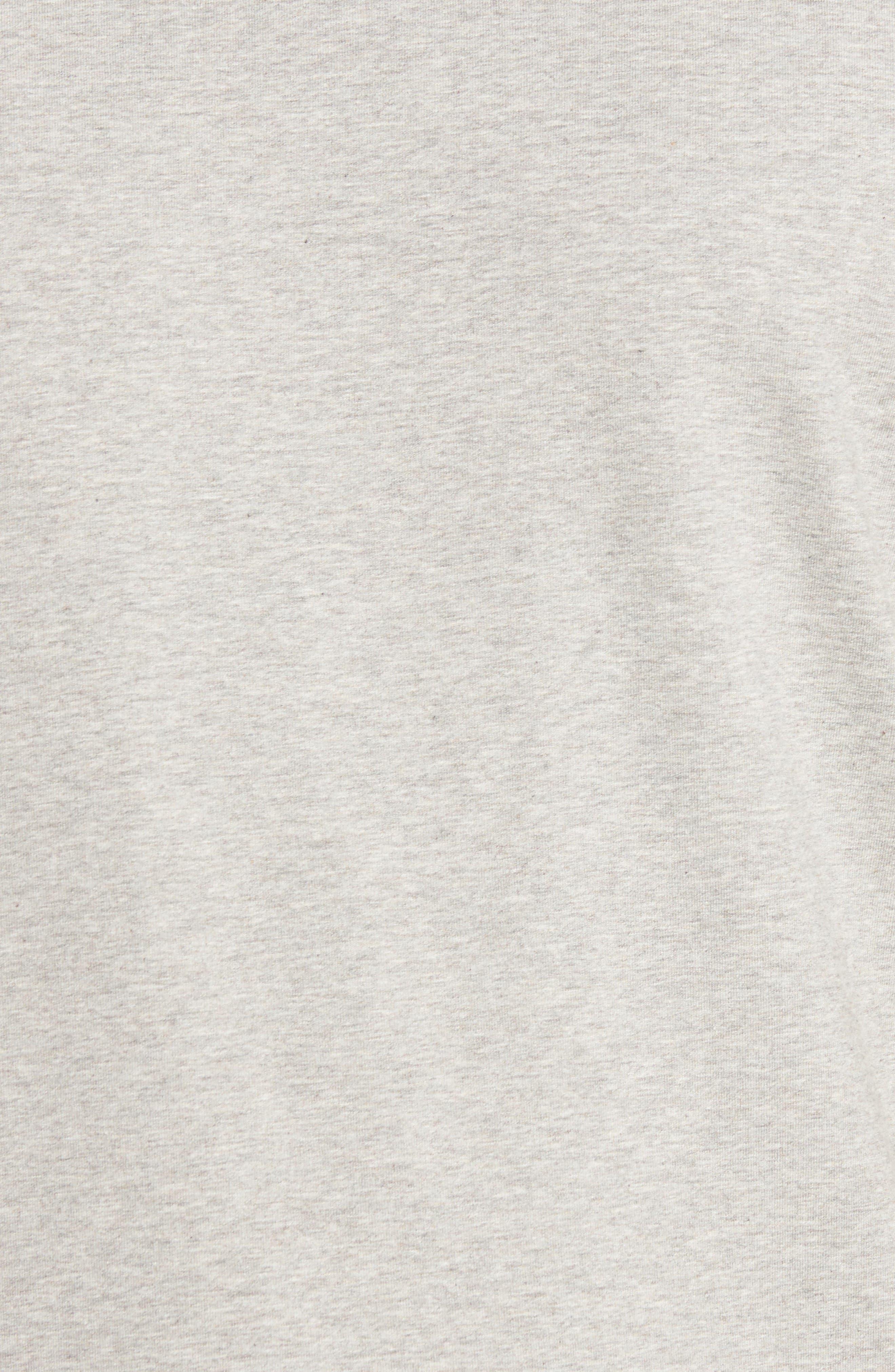 Steve Stretch Jersey T-Shirt,                             Alternate thumbnail 5, color,                             Silver