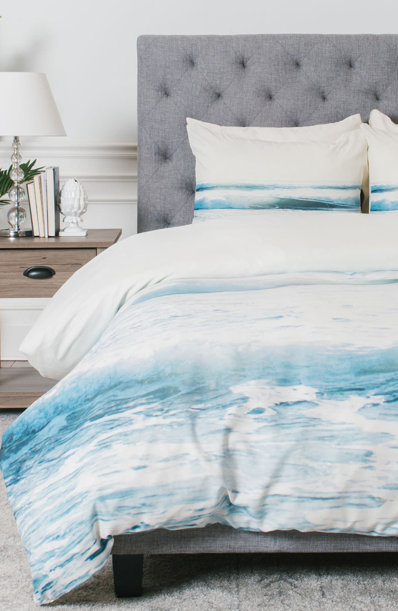 Alternate Image 1 Selected - DENY Designs Ride Waves Duvet Cover & Sham Set