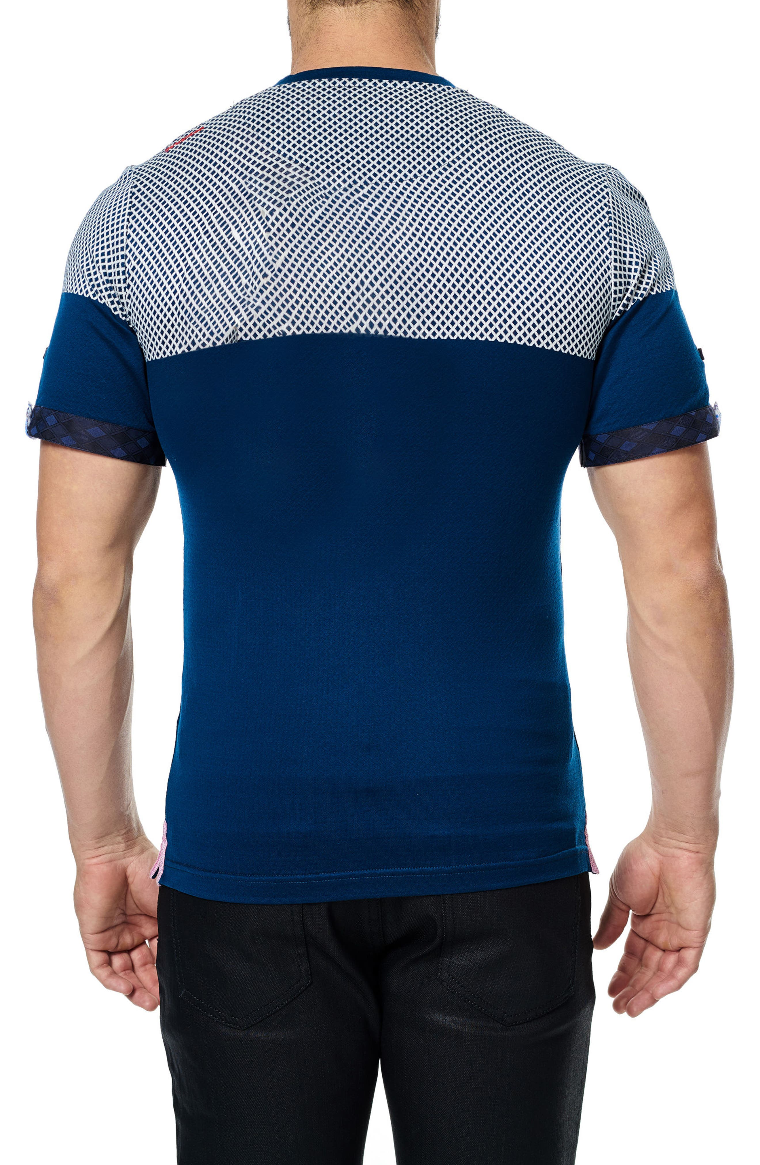 Alternate Image 2  - Maceoo V-Neck Stretch T-Shirt