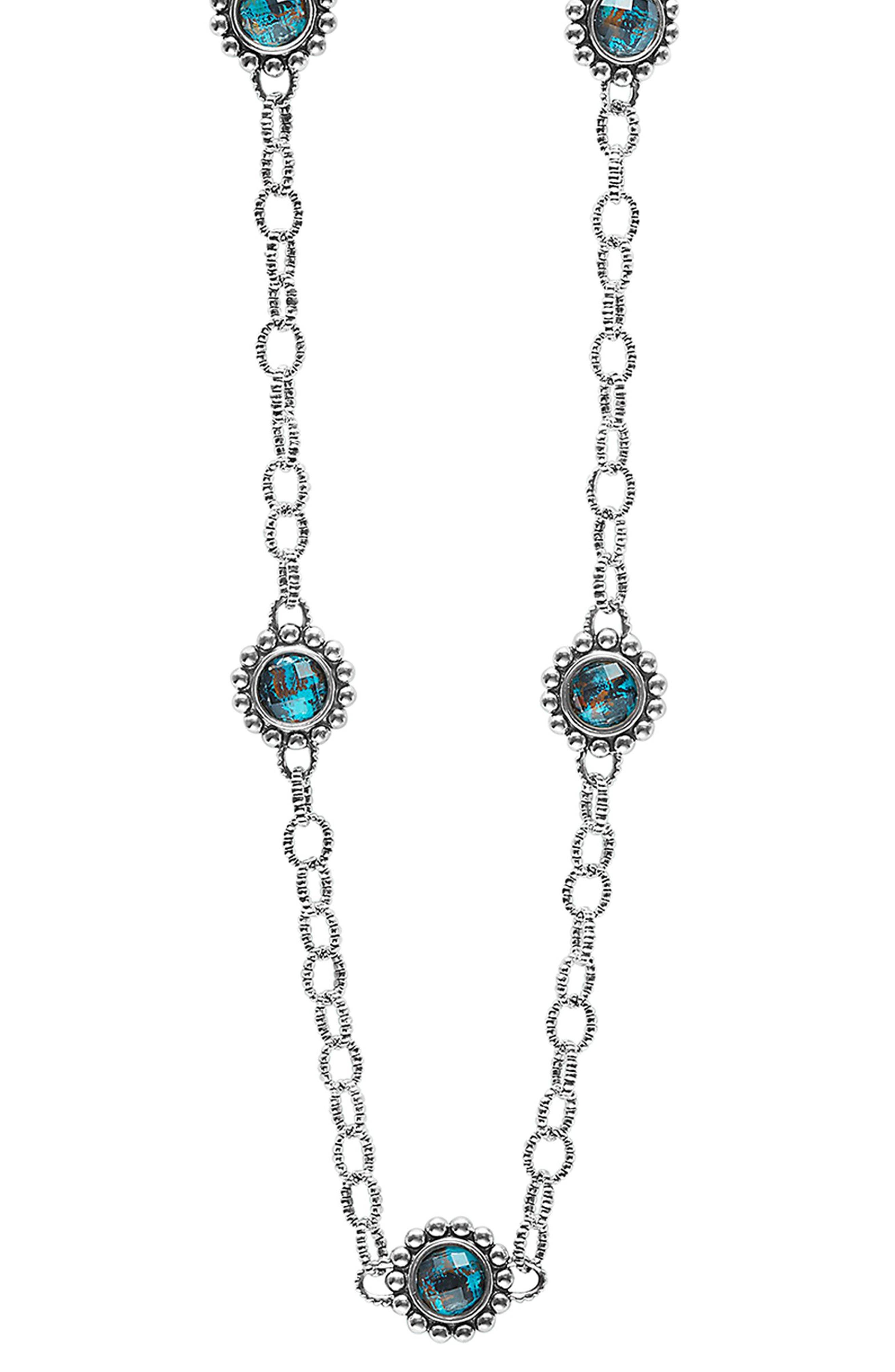Alternate Image 1 Selected - LAGOS 'Maya' Station Necklace