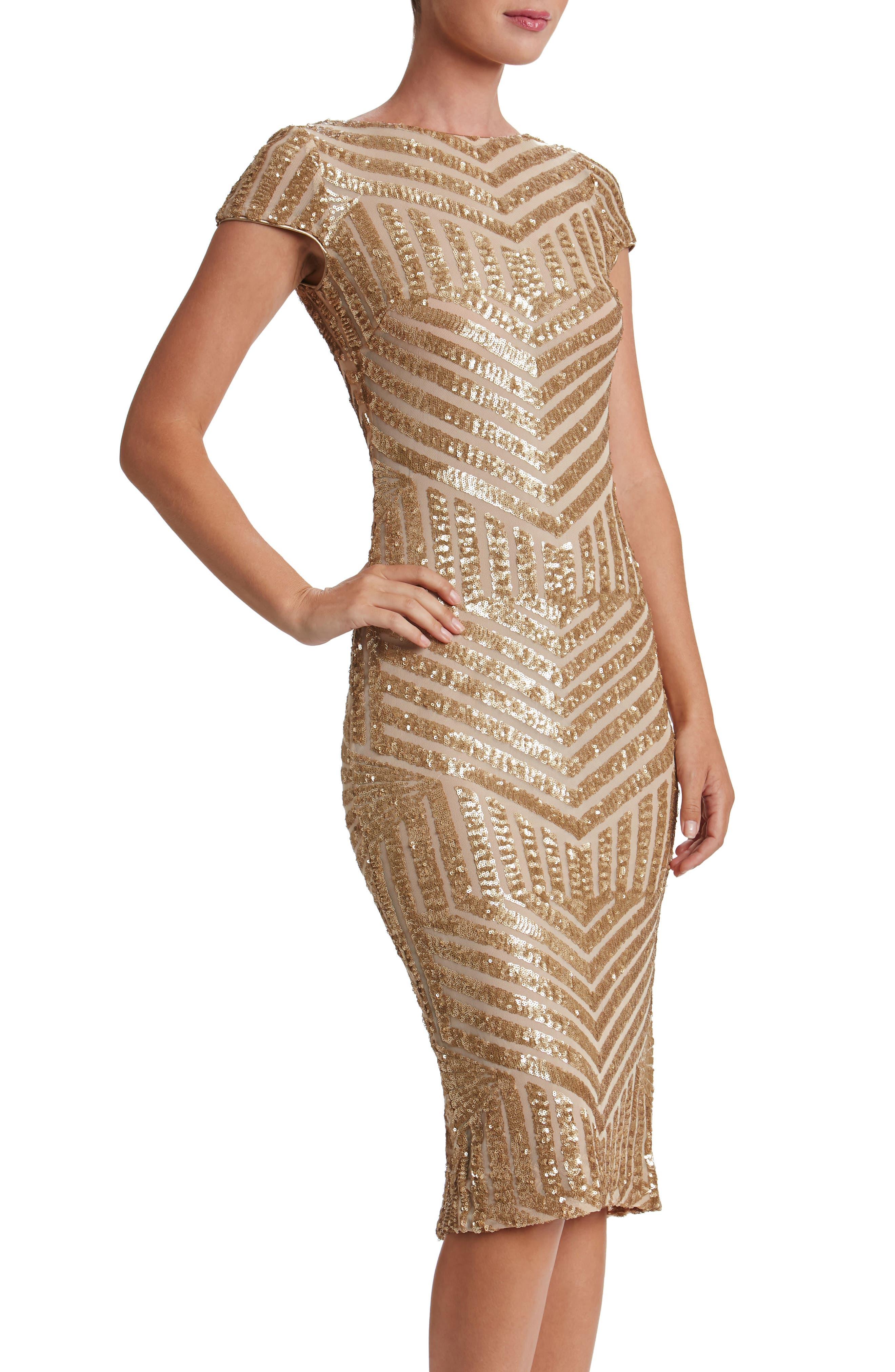 Main Image - Dress the Population Katerina Body-Con Dress