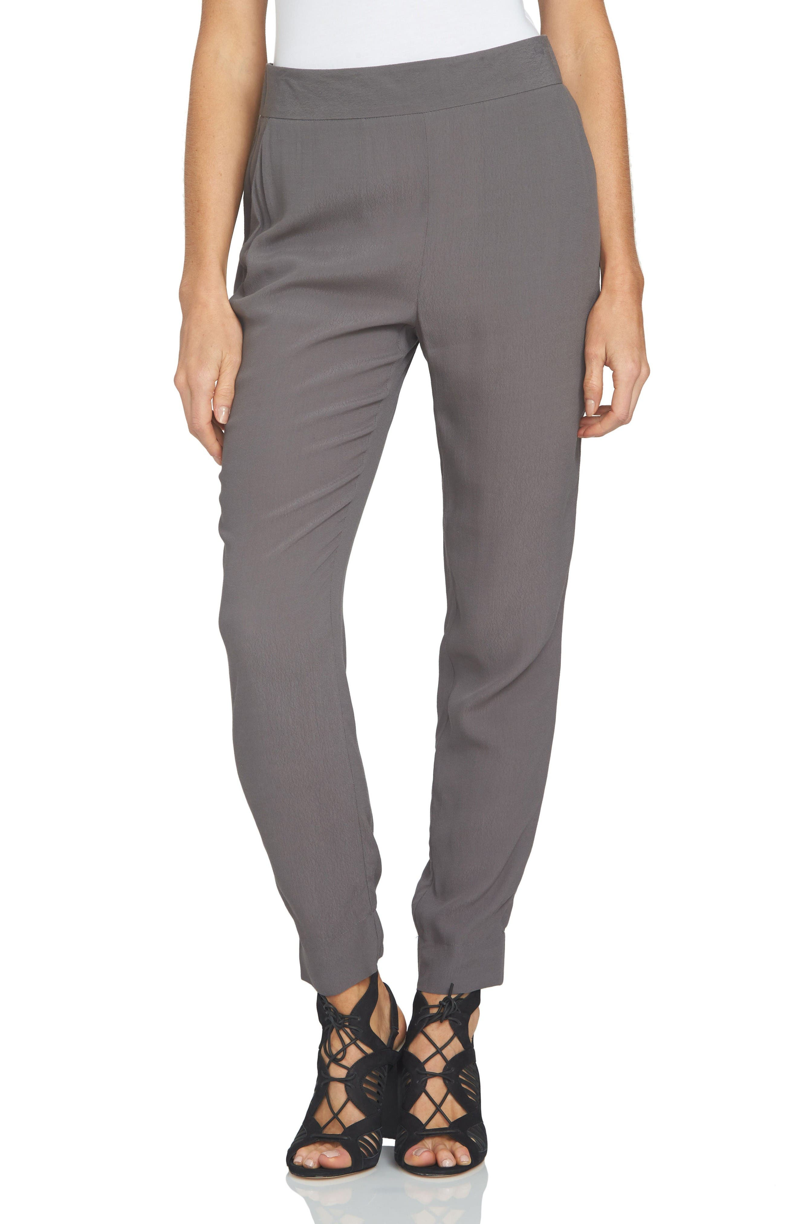 1.STATE Flat Front Pants