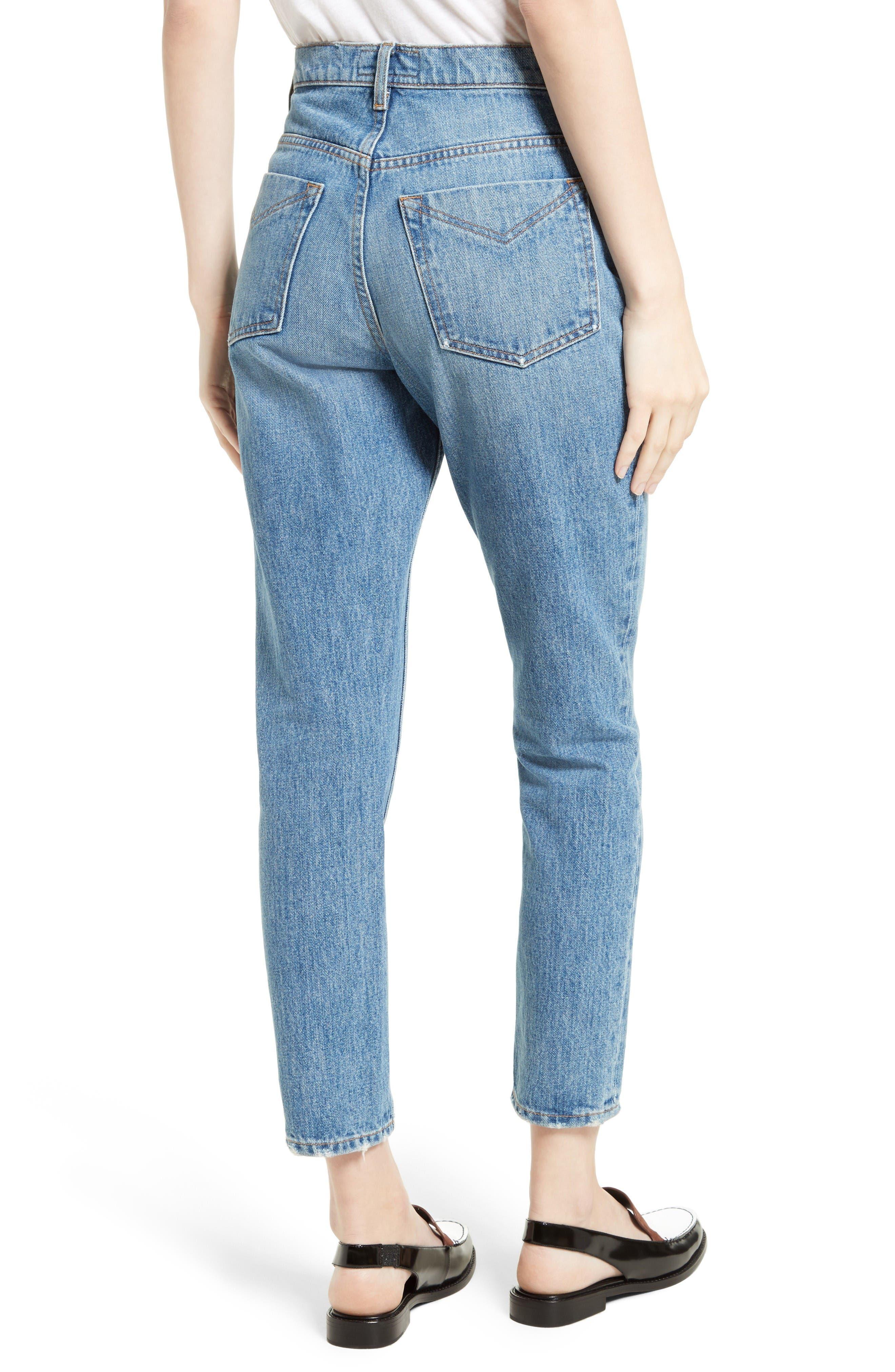 Alternate Image 2  - Derek Lam 10 Crosby Lou High Waist Jeans