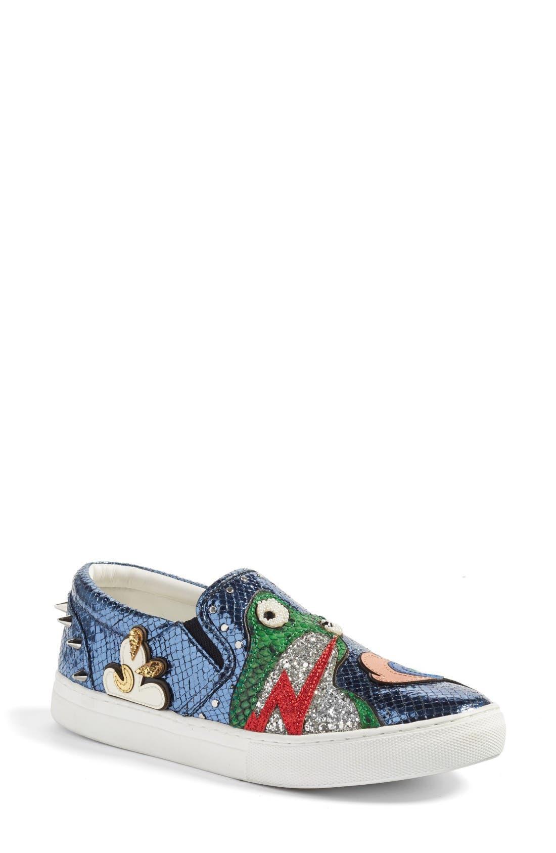 Main Image - Marc Jacobs Mercer Embellished Slip-On Sneaker (Women)
