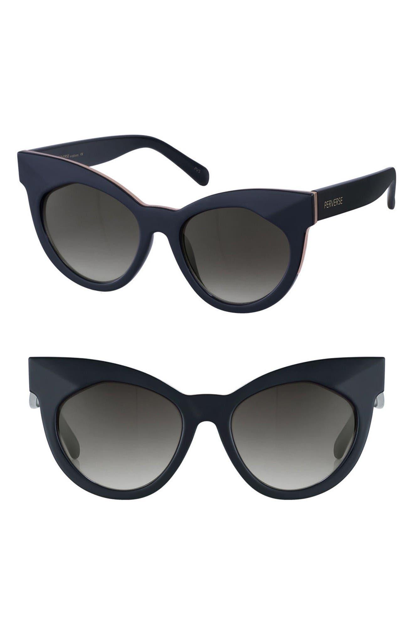 Main Image - PERVERSE Cosmopolitan 55mm Cat Eye Sunglasses