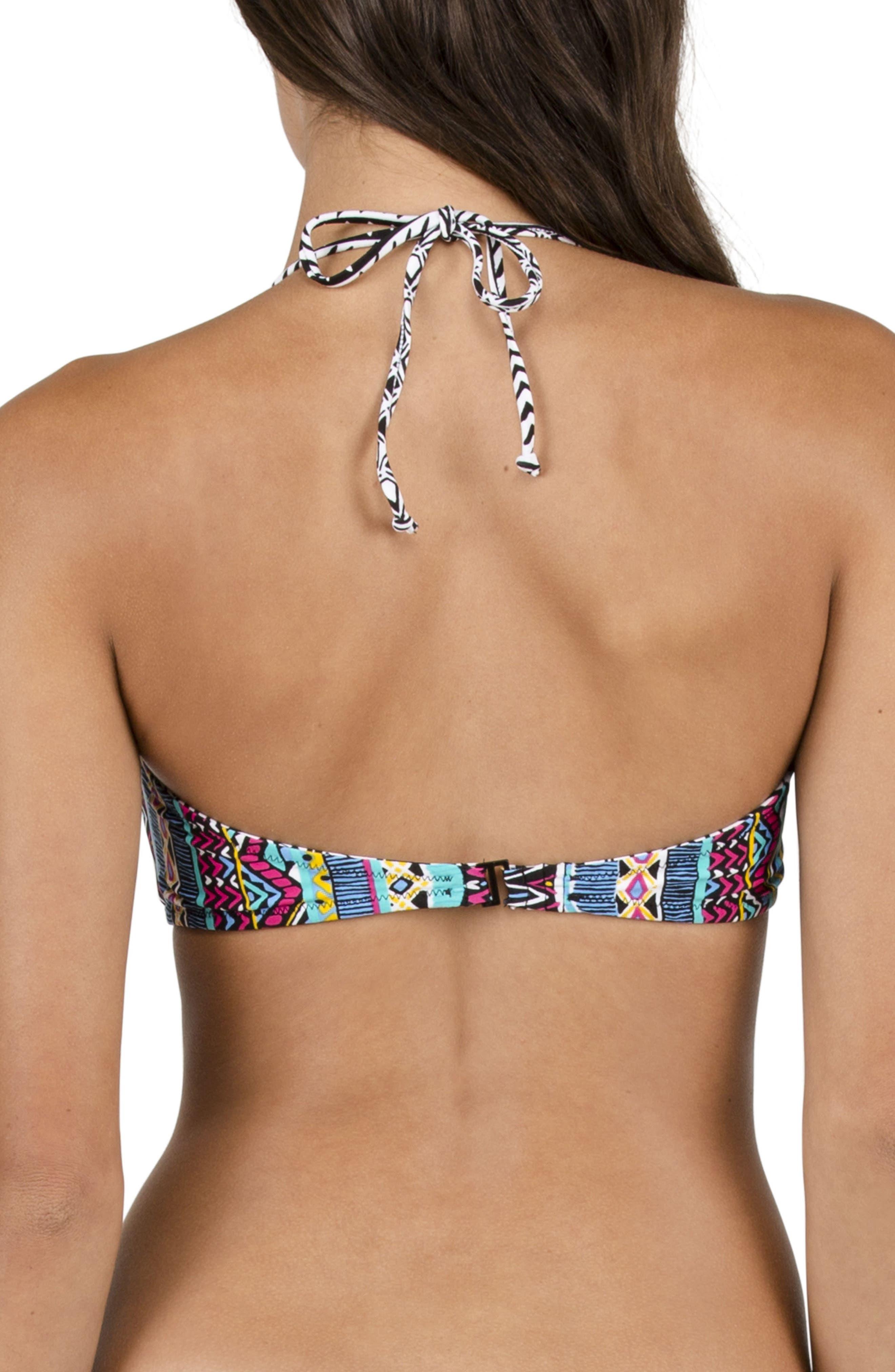 Alternate Image 7  - Volcom Locals Only Reversible Bandeau Bikini Top