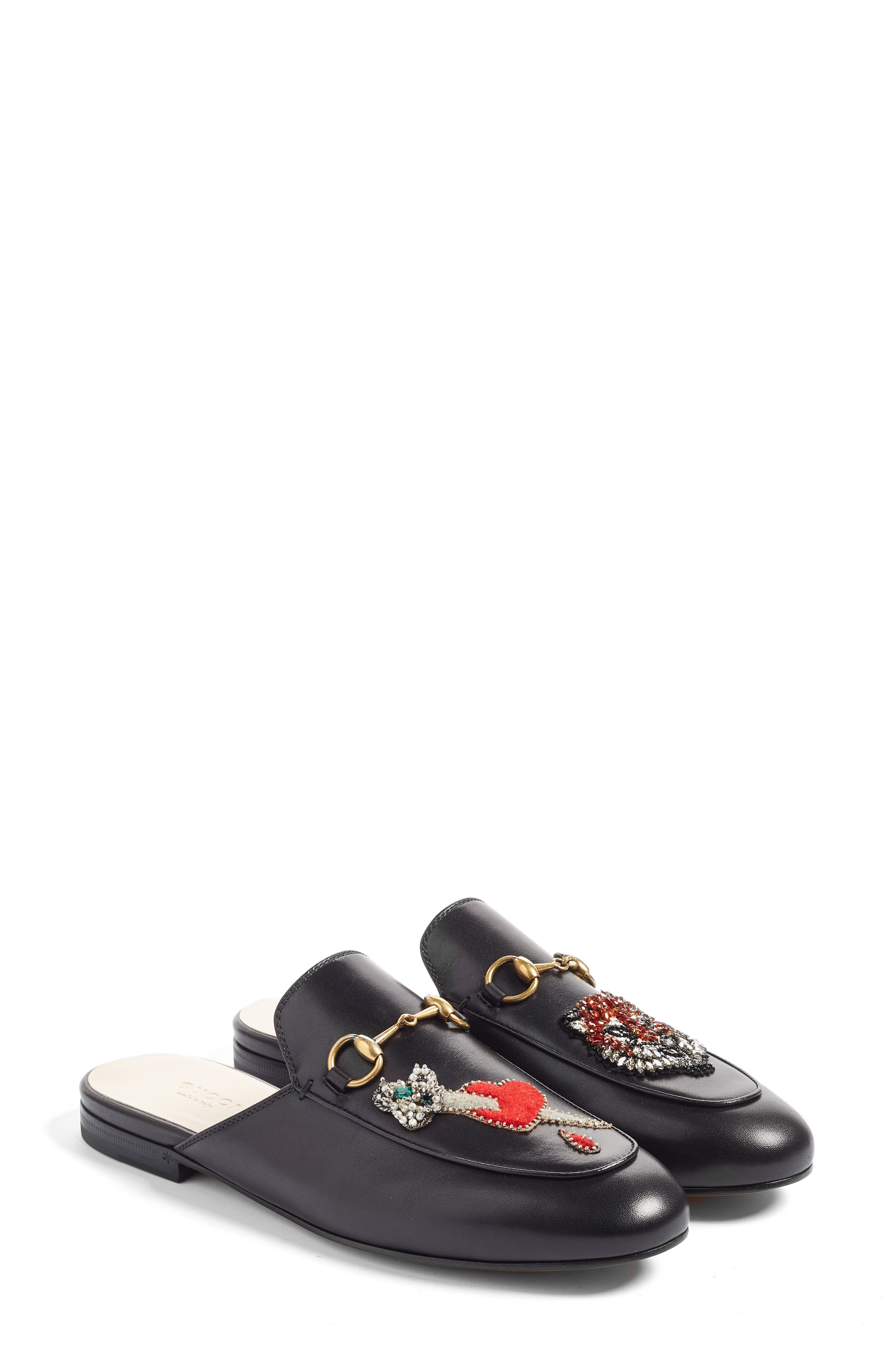 Alternate Image 3  - Gucci Princetown Mule Loafer (Women)