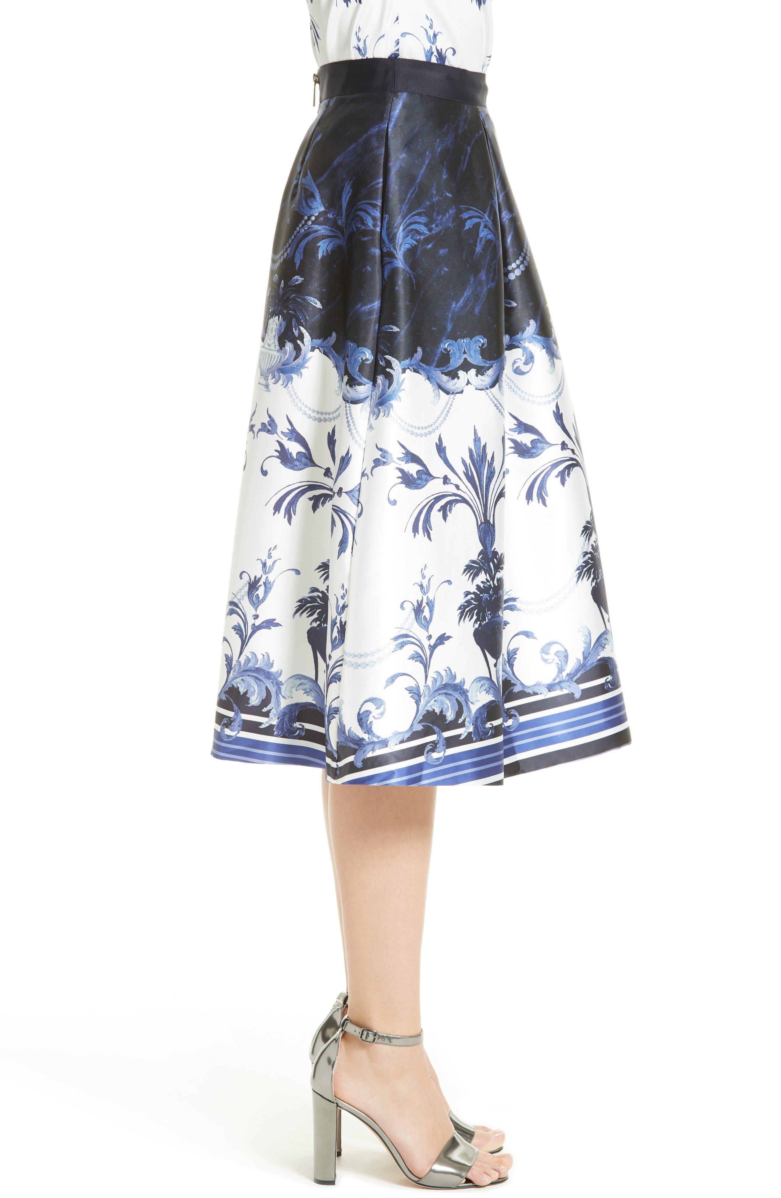 Alternate Image 4  - Ted Baker London Hunah Full Skirt