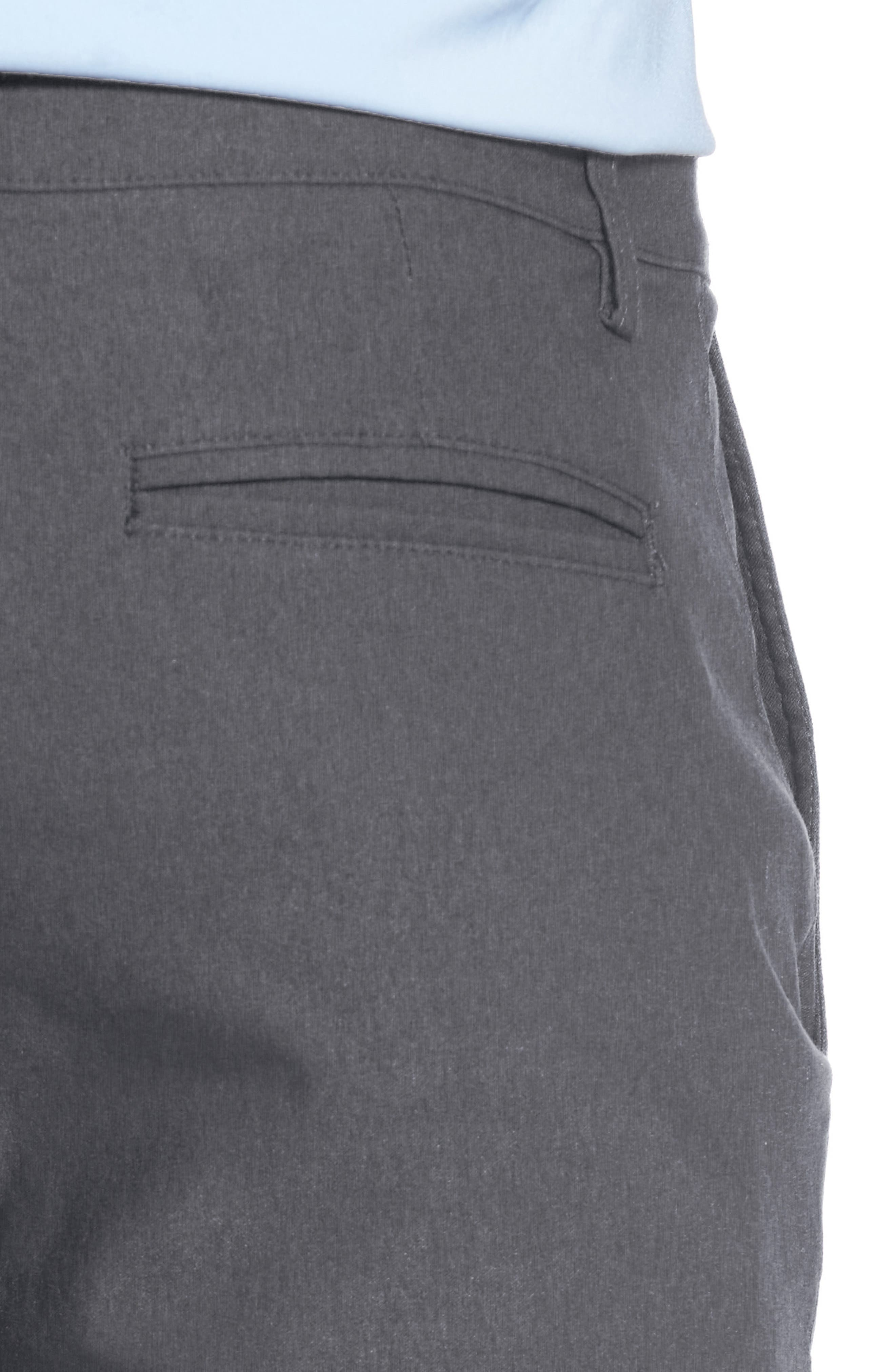Vice President Trim Fit Performance Chinos,                             Alternate thumbnail 4, color,                             Grey