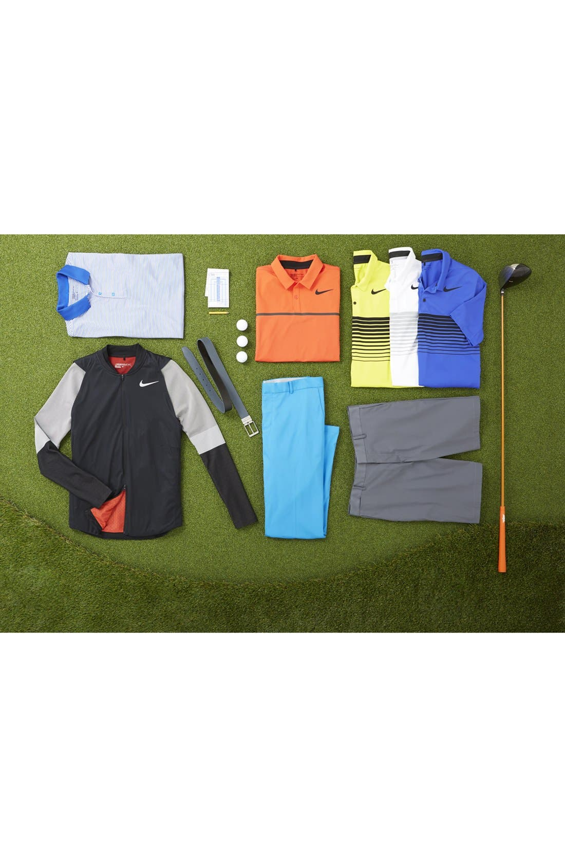 Alternate Image 6  - Nike Flat Front Dri-FIT Tech Golf Pants